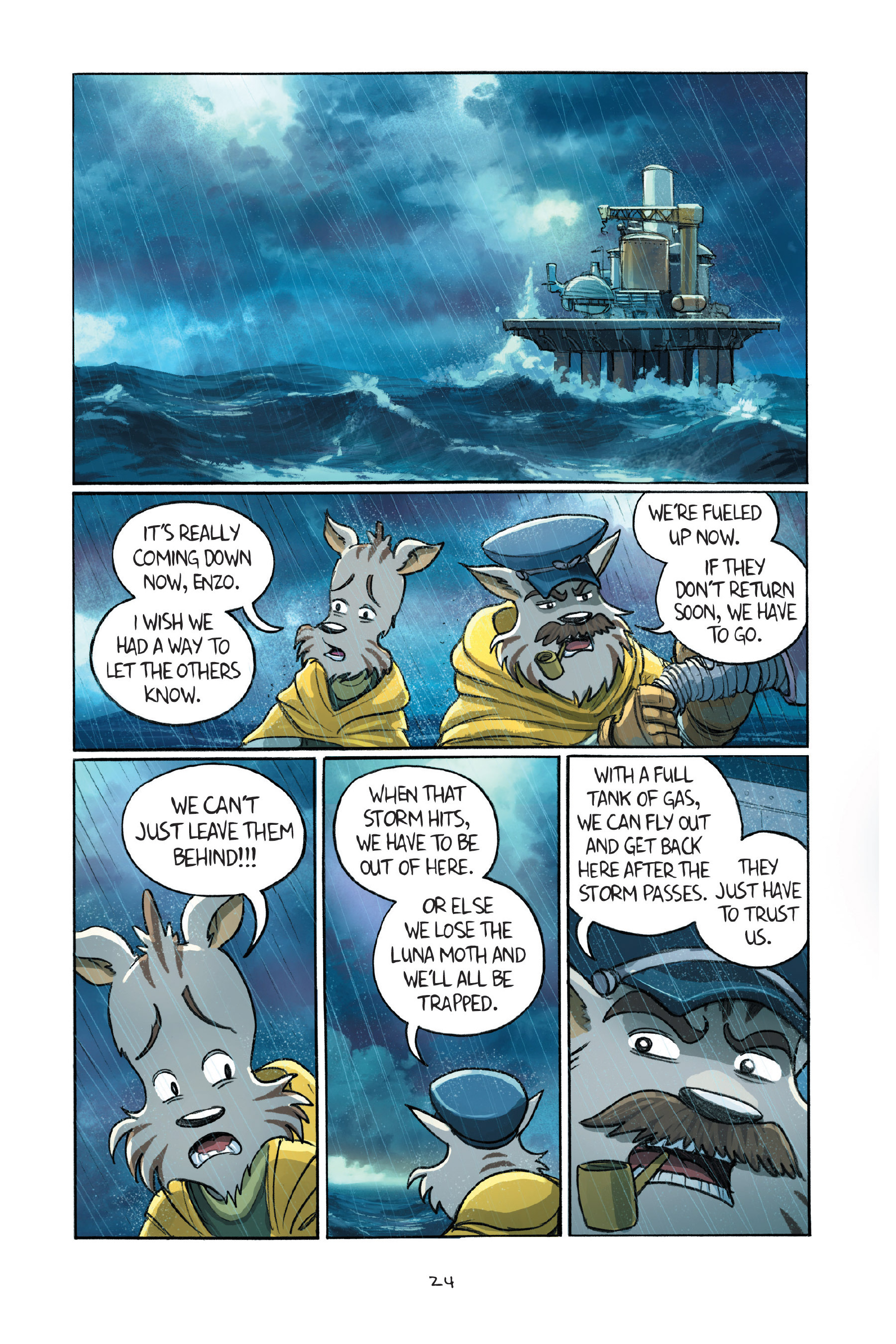 Read online Amulet comic -  Issue #7 - 27