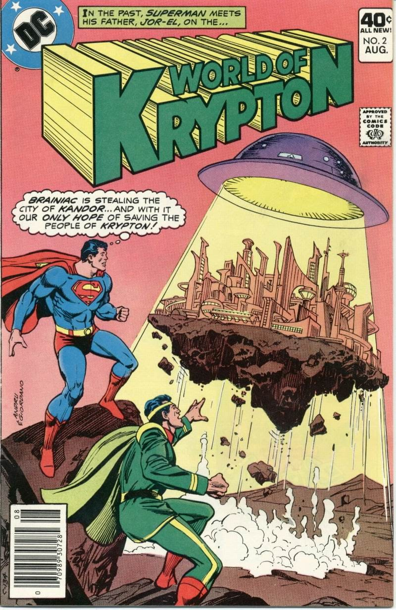 The World of Krypton issue 2 - Page 1