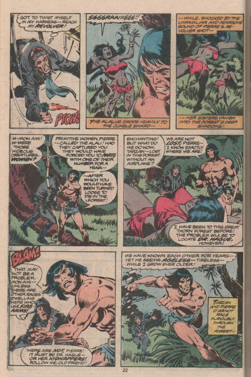 Read online Tarzan (1977) comic -  Issue # _Annual 3 - 17