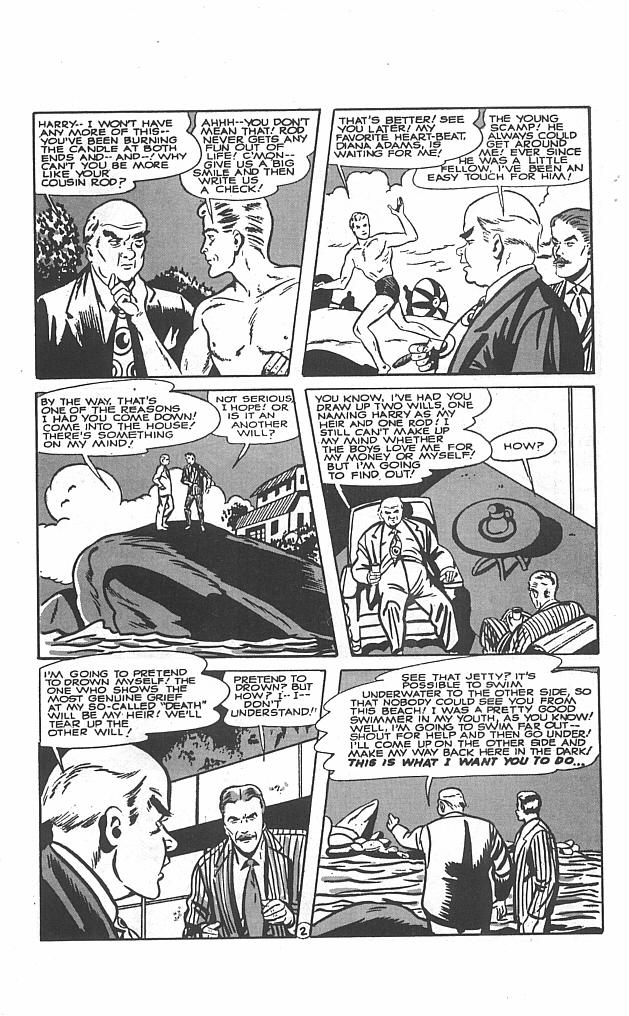 Read online Golden-Age Men of Mystery comic -  Issue #5 - 11