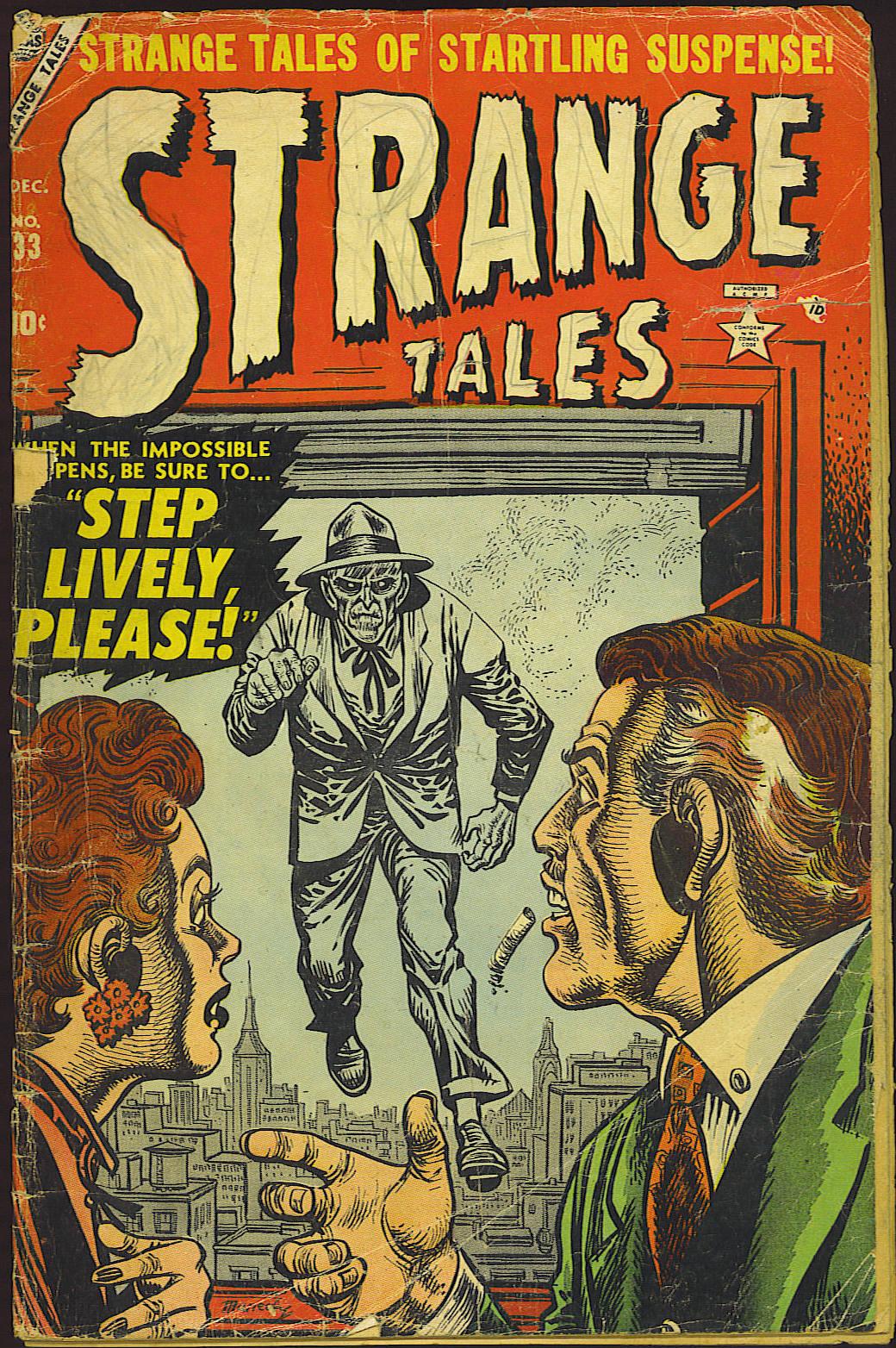 Strange Tales (1951) 33 Page 1