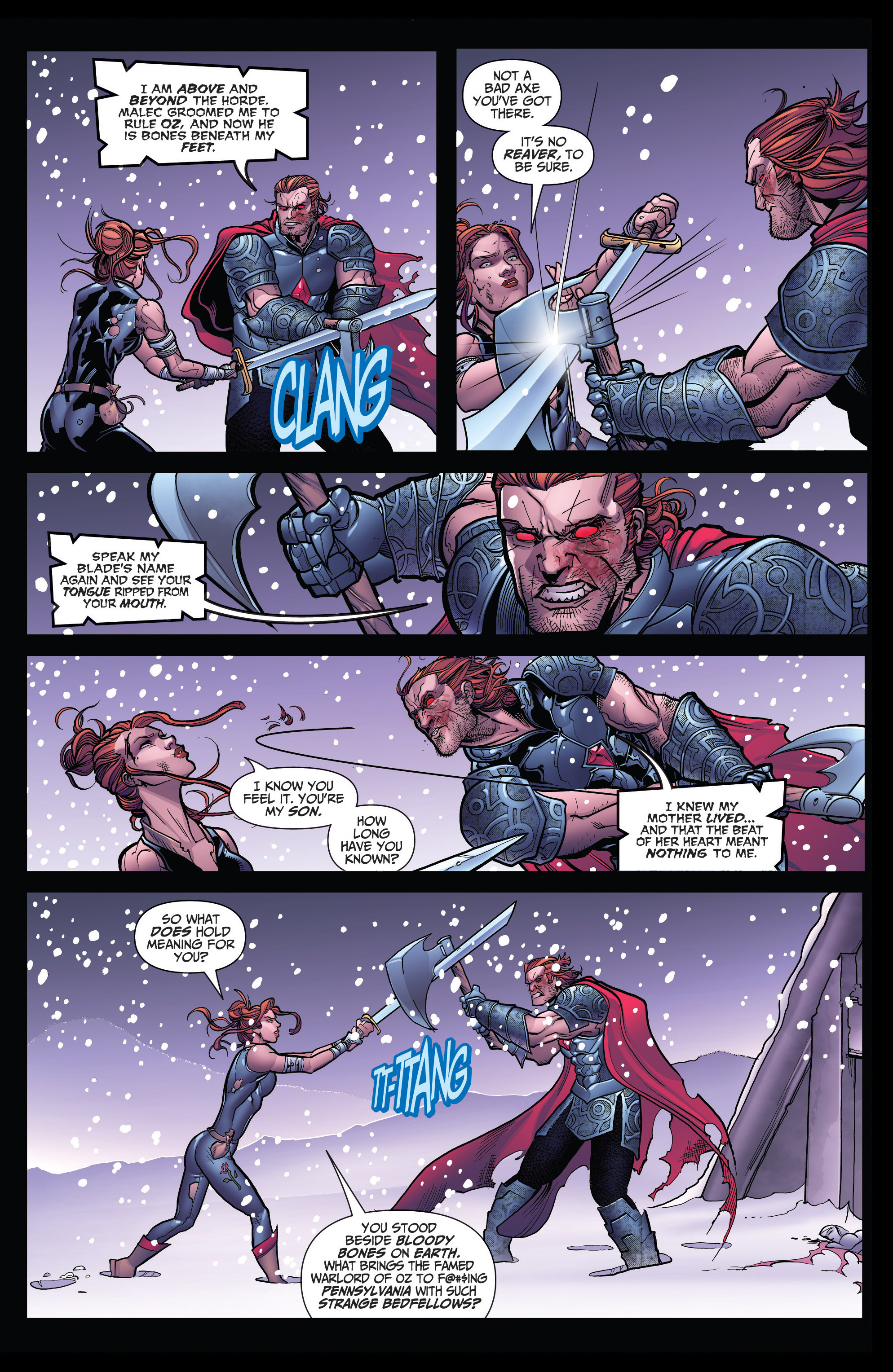 Read online Grimm Fairy Tales: Arcane Acre comic -  Issue # TPB 4 - 77
