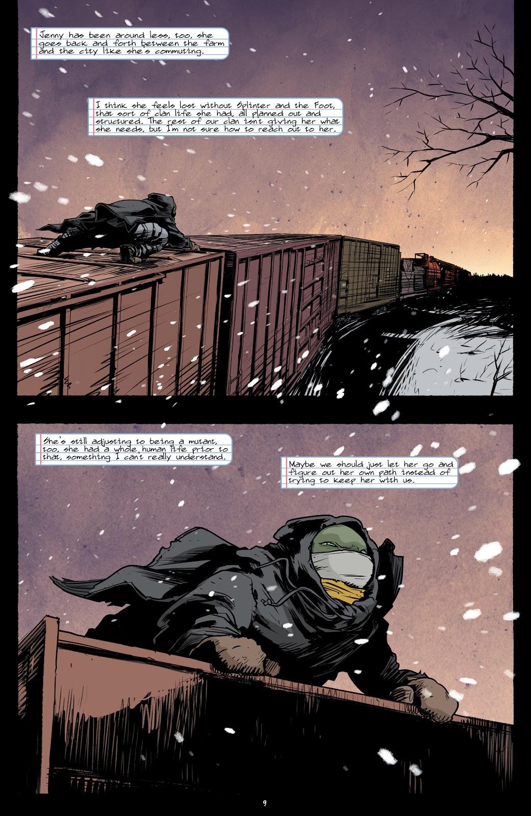 Read online Teenage Mutant Ninja Turtles (2011) comic -  Issue #101 - 11