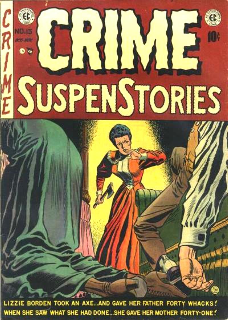Crime SuspenStories 13 Page 1