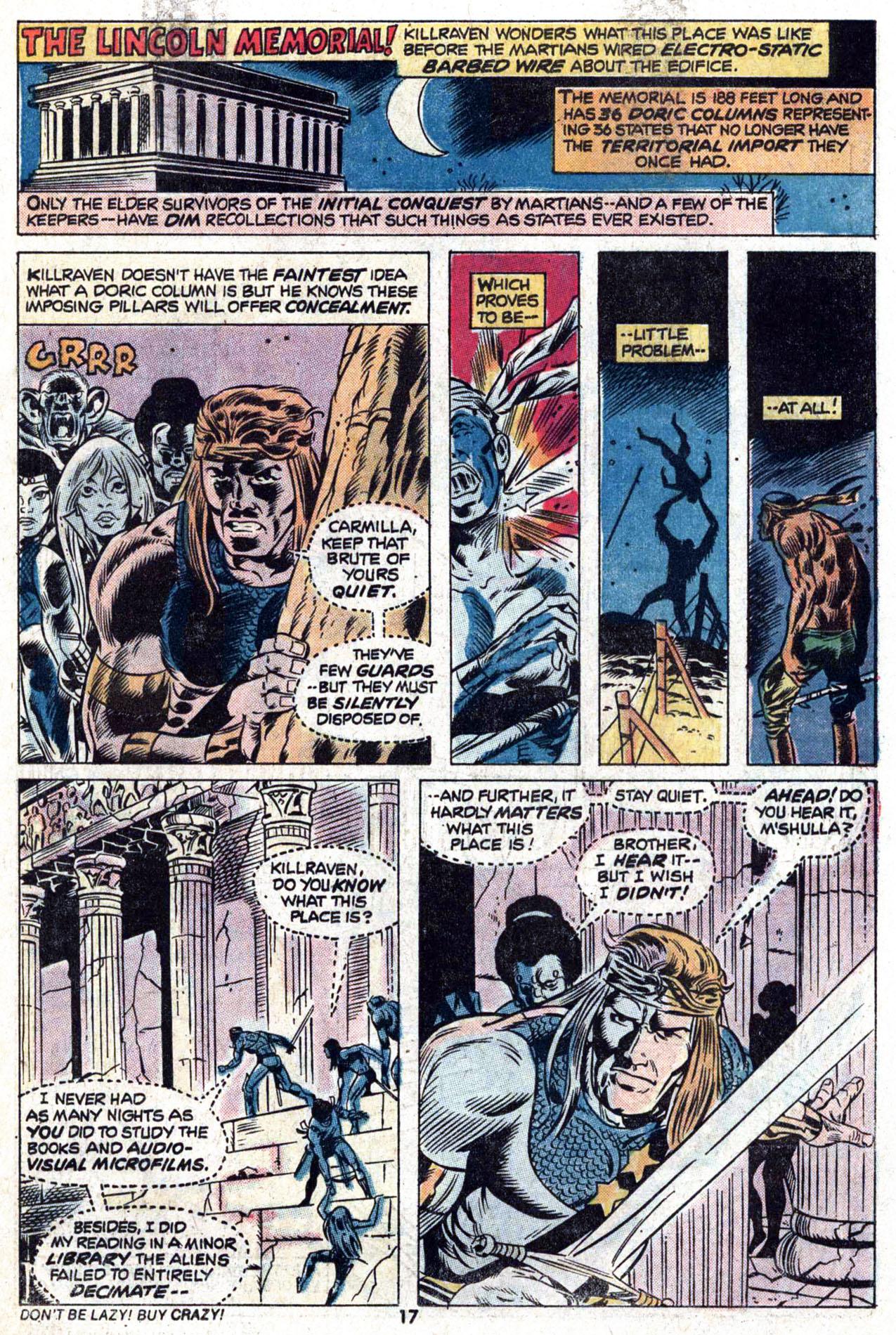 Read online Amazing Adventures (1970) comic -  Issue #22 - 17