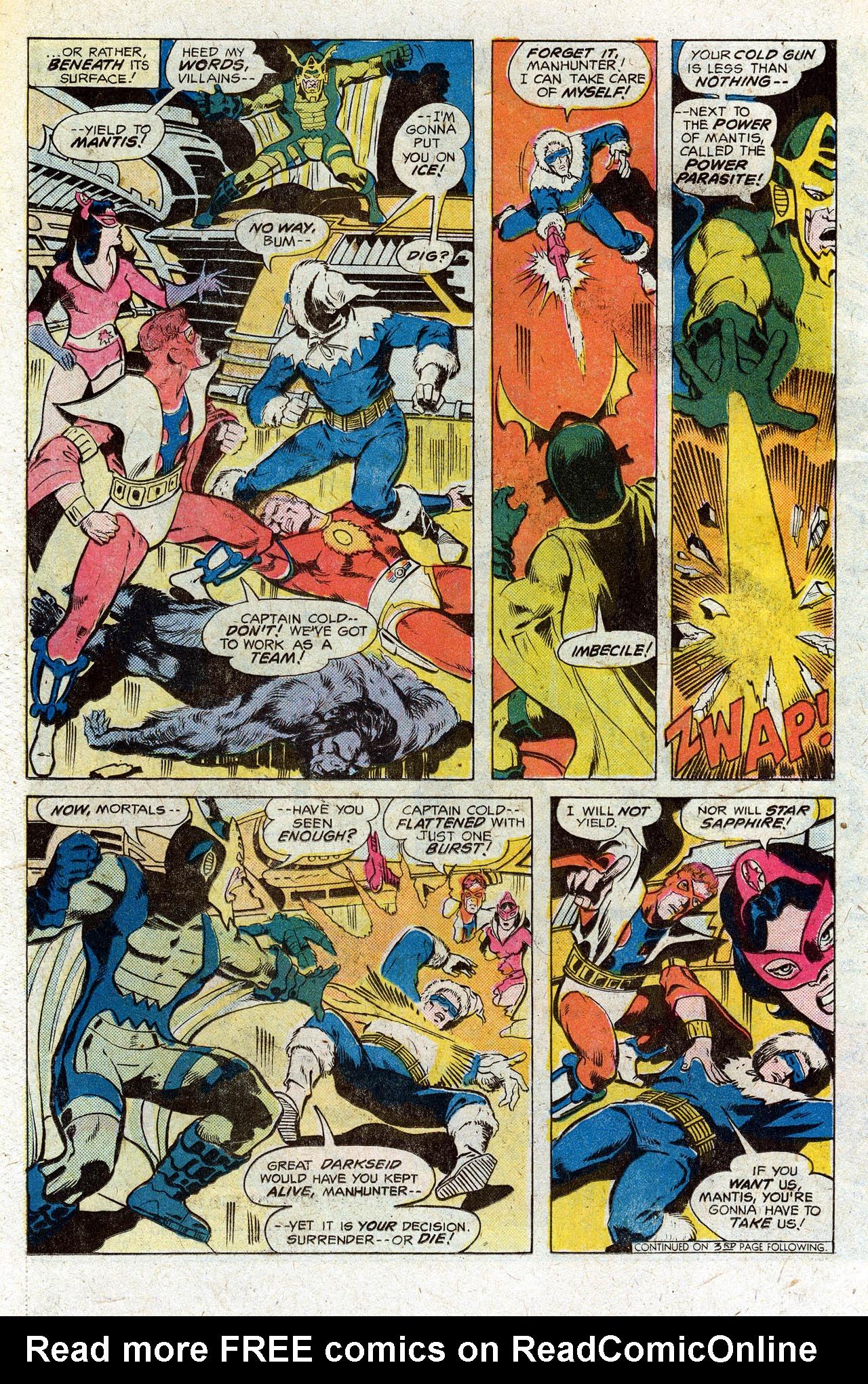 Read online Secret Society of Super-Villains comic -  Issue #3 - 5