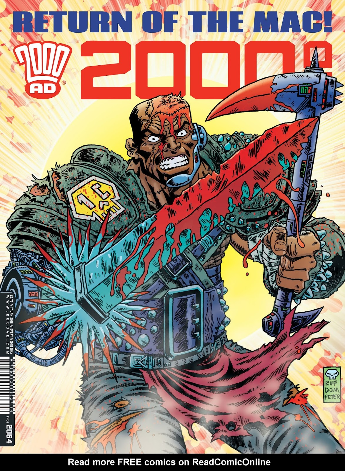 2000 AD issue 2064 - Page 1