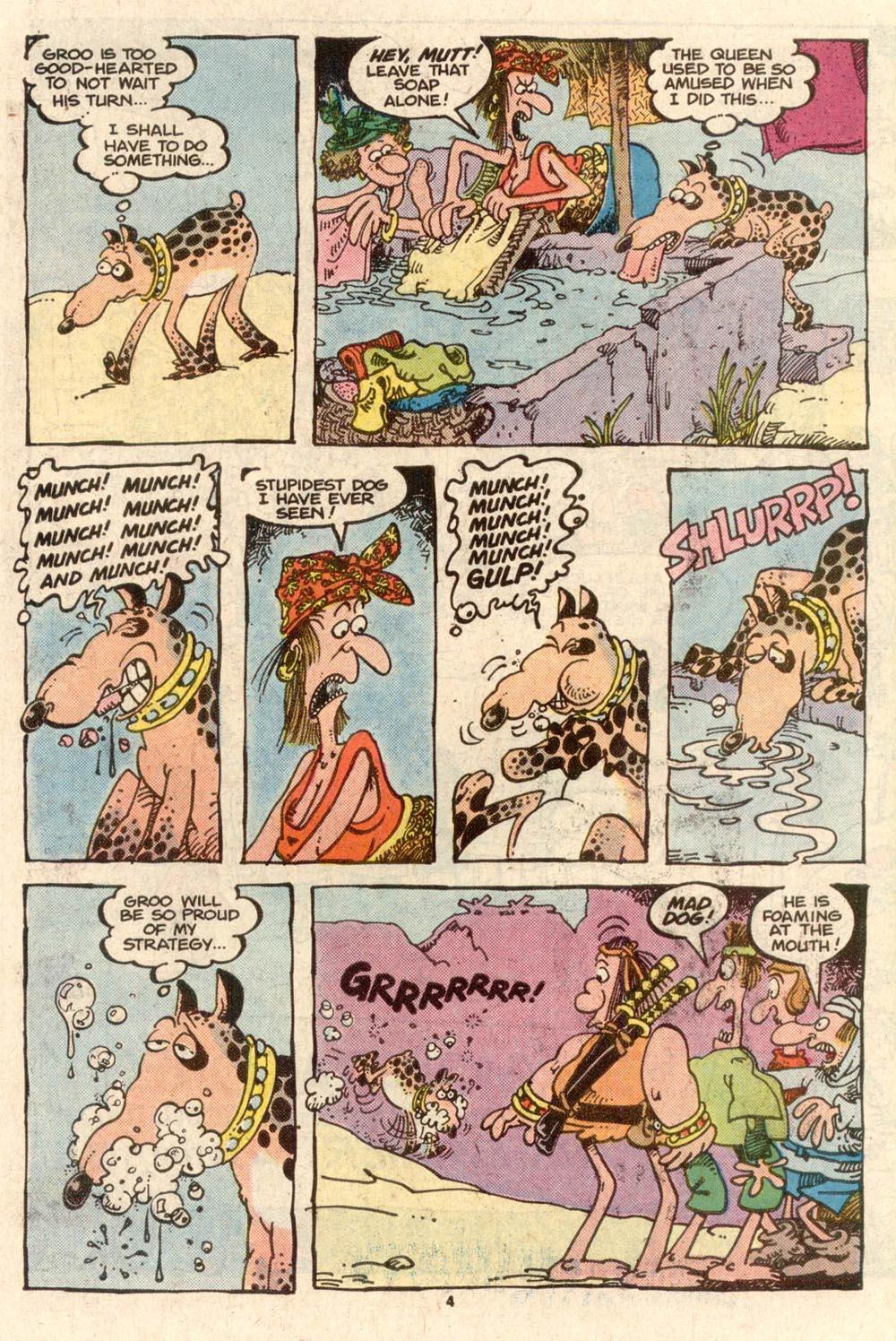 Read online Sergio Aragonés Groo the Wanderer comic -  Issue #40 - 4