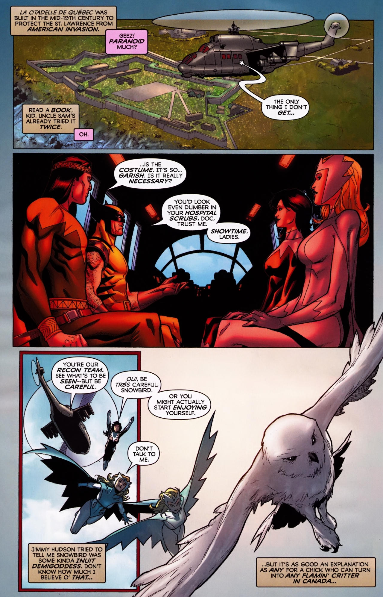 Read online Wolverine: First Class comic -  Issue #5 - 6