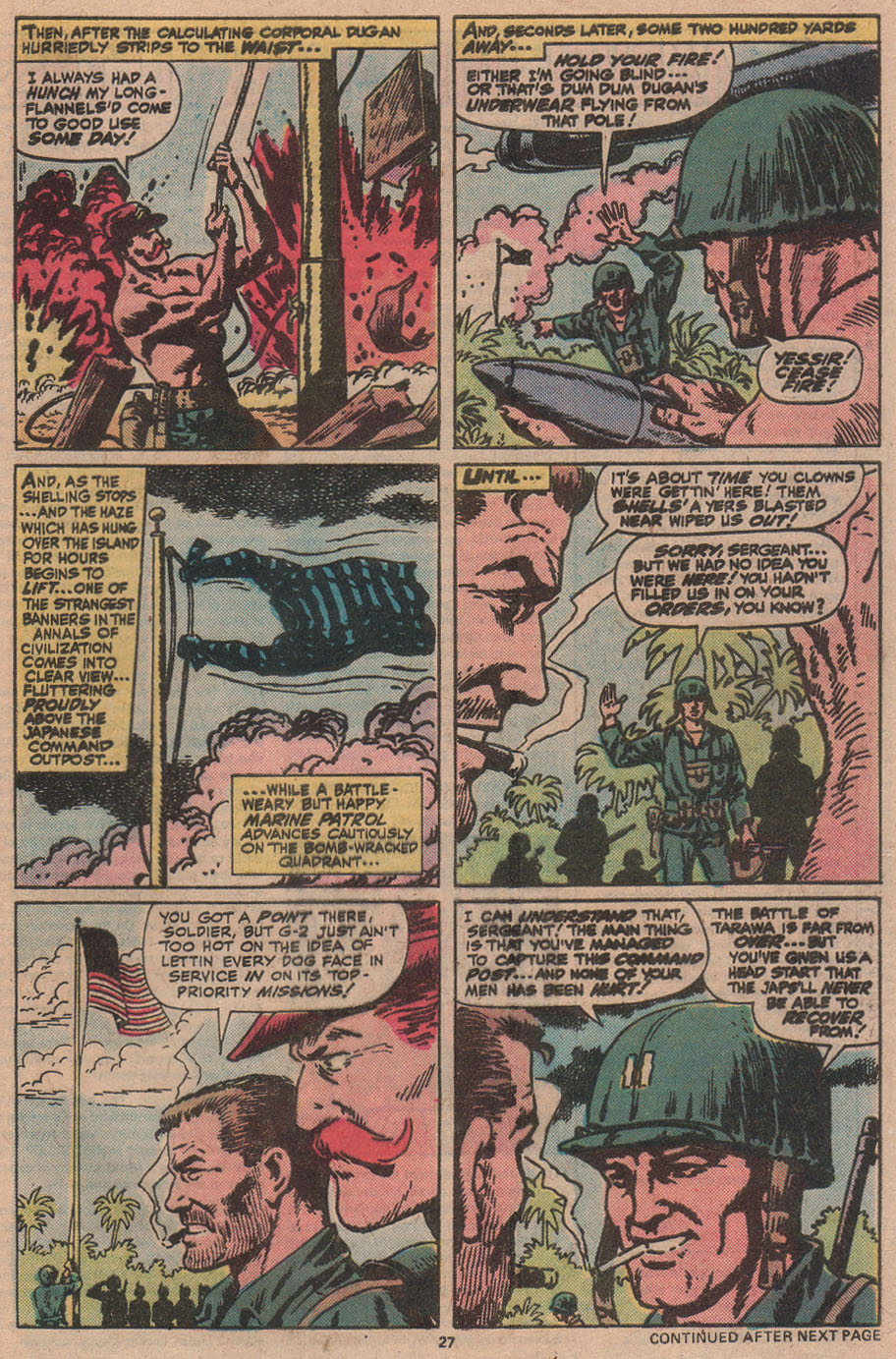 Read online Sgt. Fury comic -  Issue #145 - 29