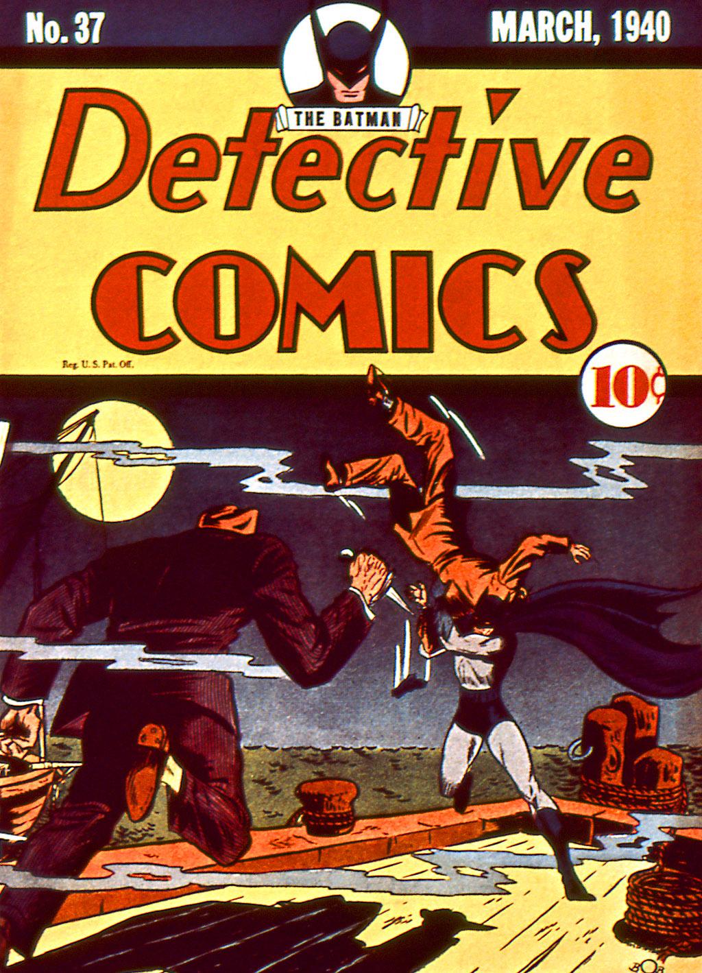 Read online Detective Comics (1937) comic -  Issue #37 - 2