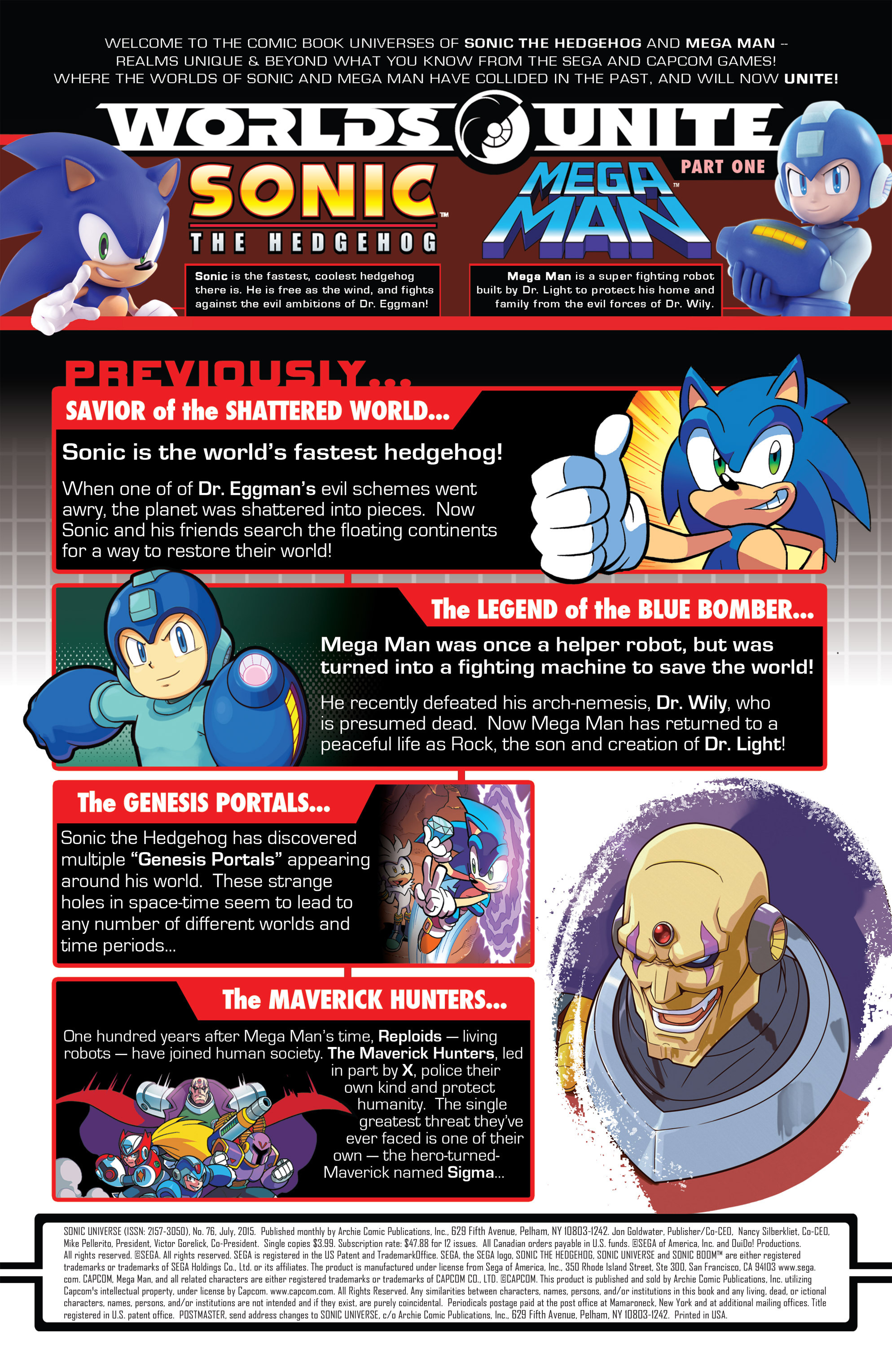Read online Sonic Universe comic -  Issue #76 - 2