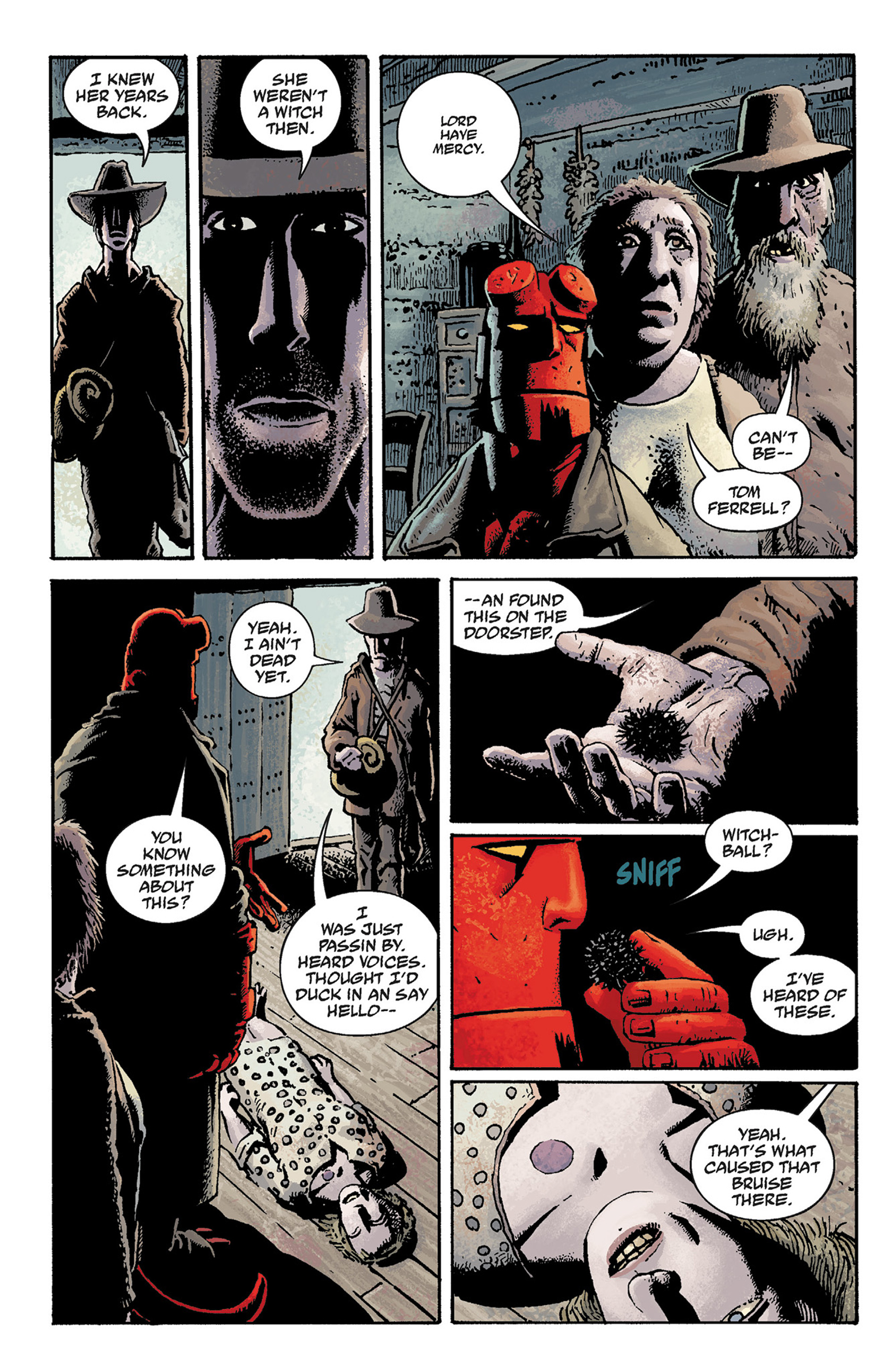 Read online Hellboy: The Crooked Man and Others comic -  Issue # TPB - 12