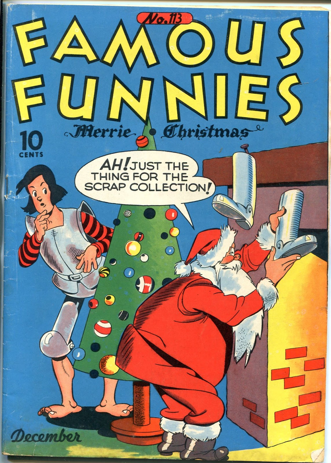 Read online Famous Funnies comic -  Issue #113 - 1