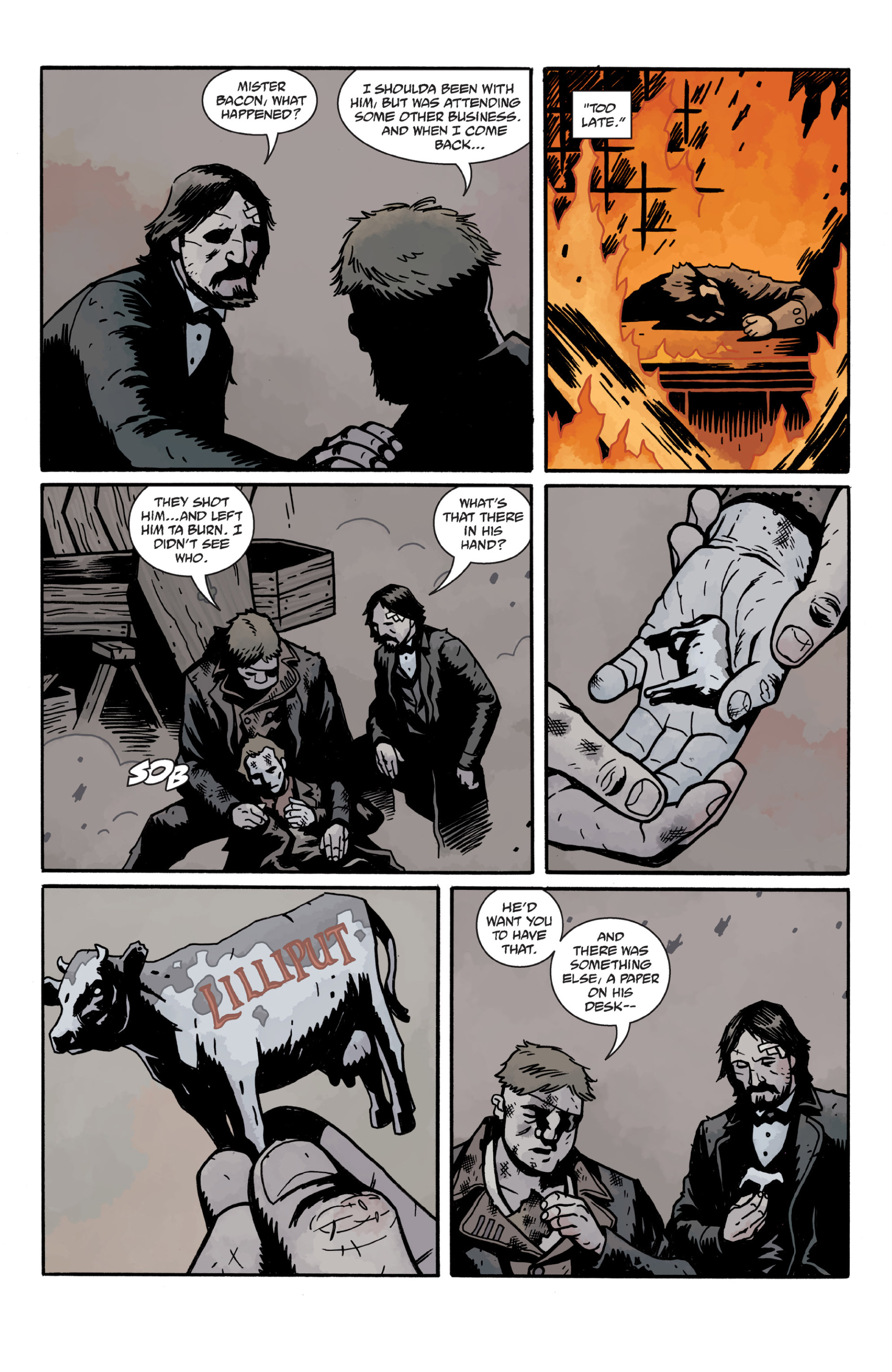 Read online Sir Edward Grey, Witchfinder: In the Service of Angels comic -  Issue # TPB - 120
