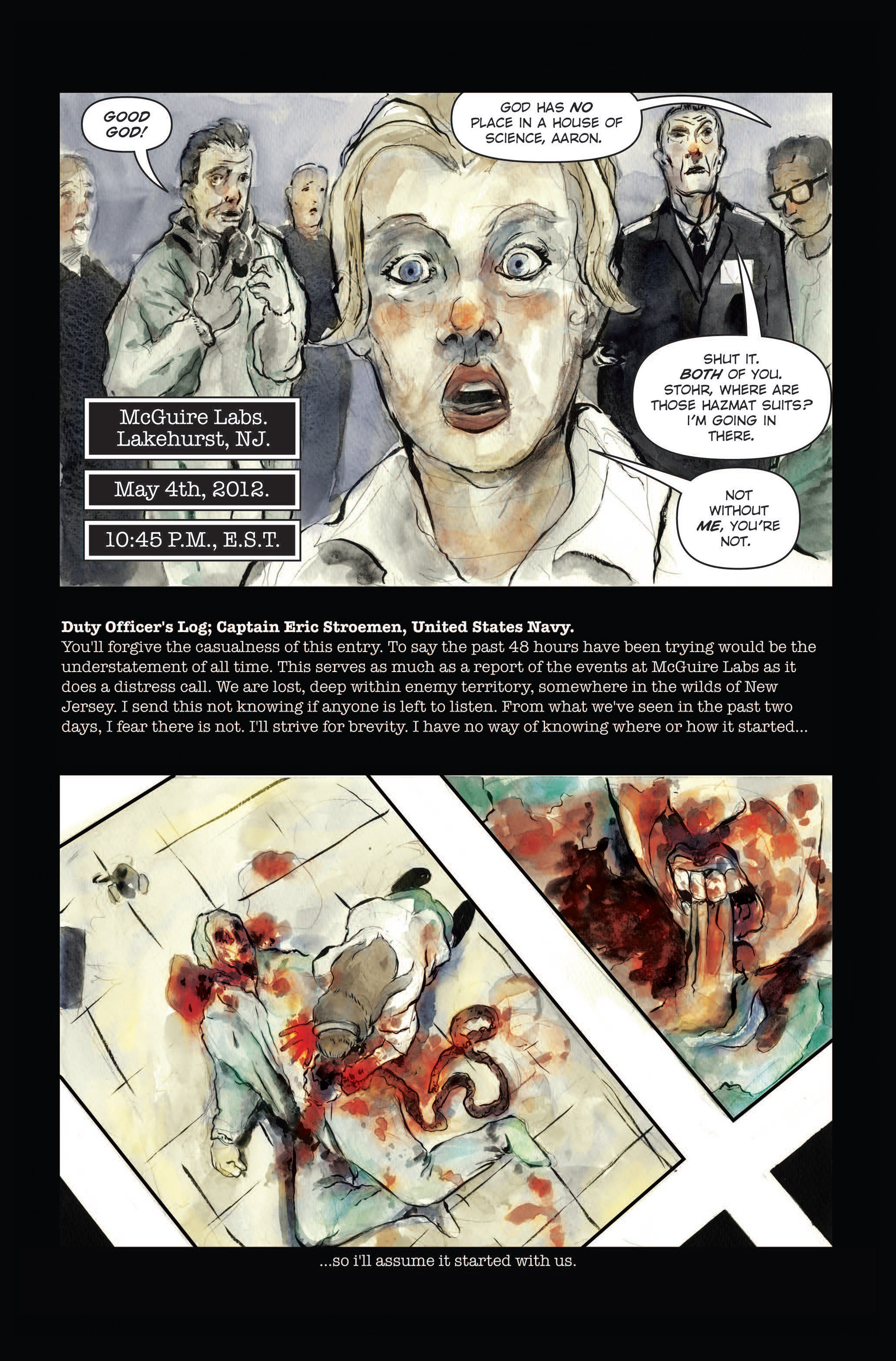 Read online The Final Plague comic -  Issue #3 - 3