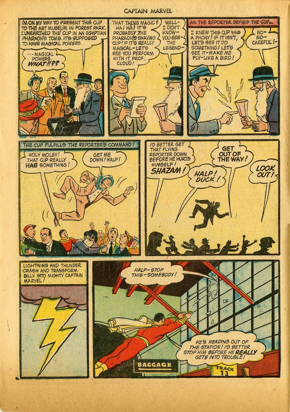 Captain Marvel Adventures issue 36 - Page 6