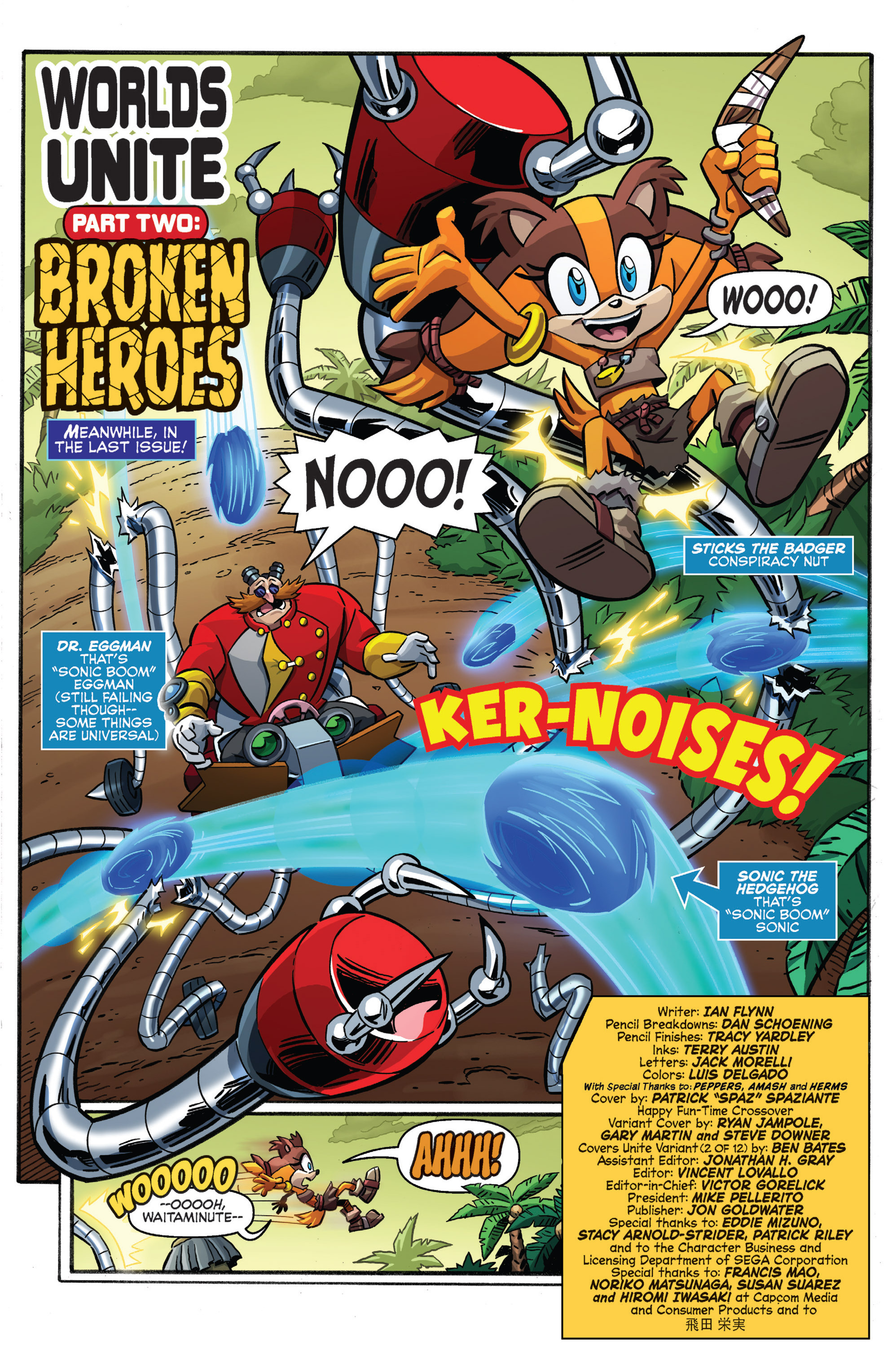 Read online Sonic Boom comic -  Issue #8 - 3