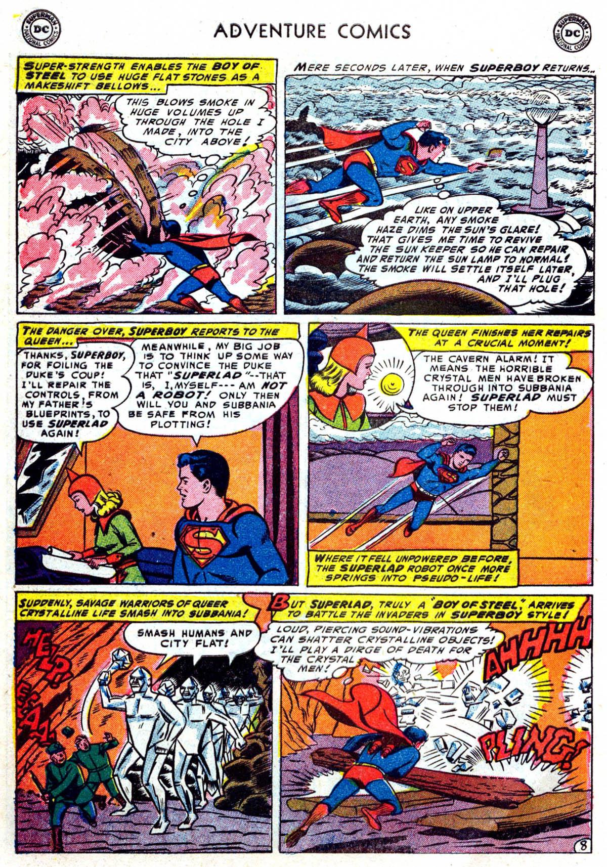 Read online Adventure Comics (1938) comic -  Issue #199 - 9