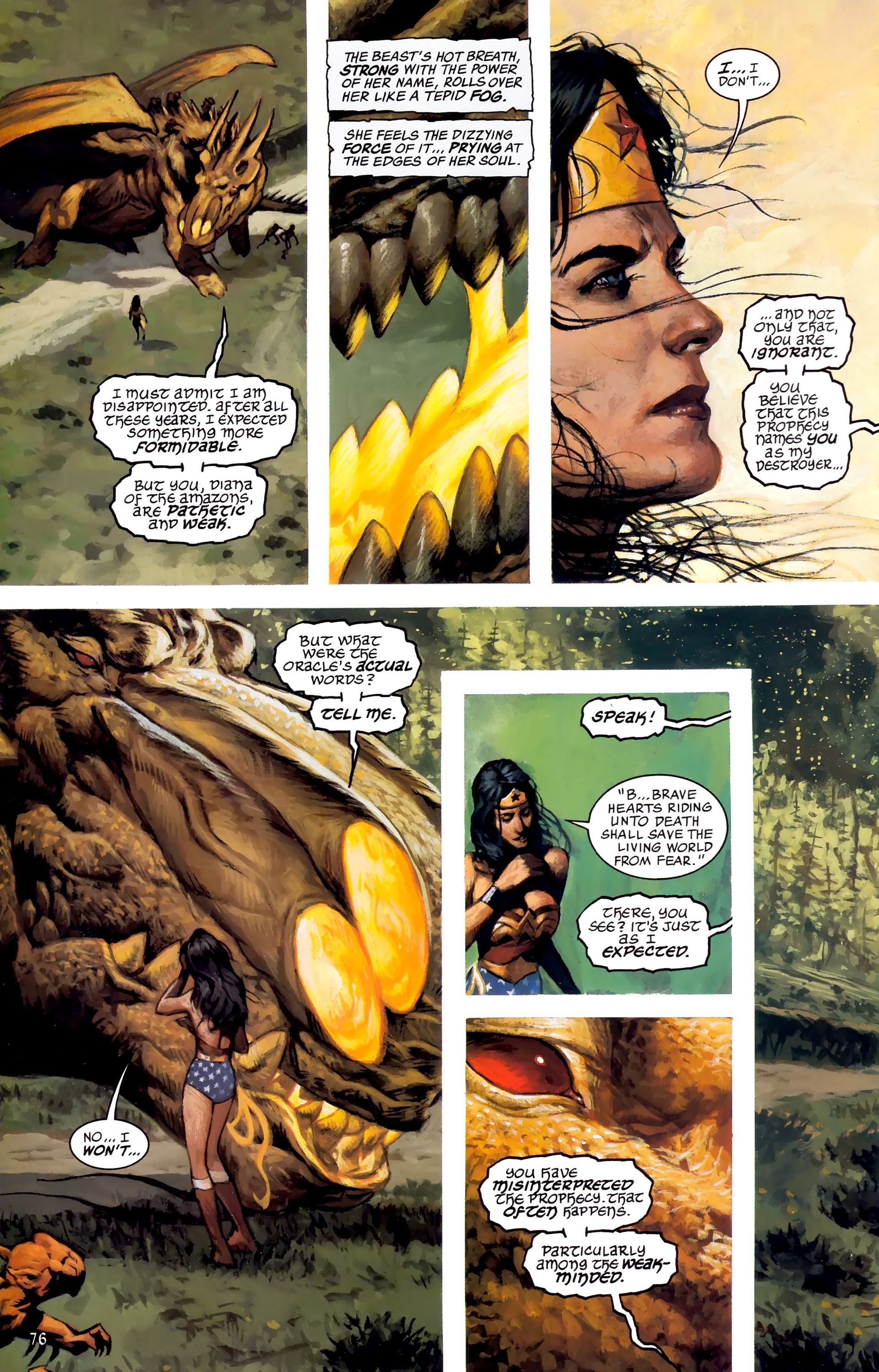 Read online JLA: A League of One comic -  Issue # Full - 83