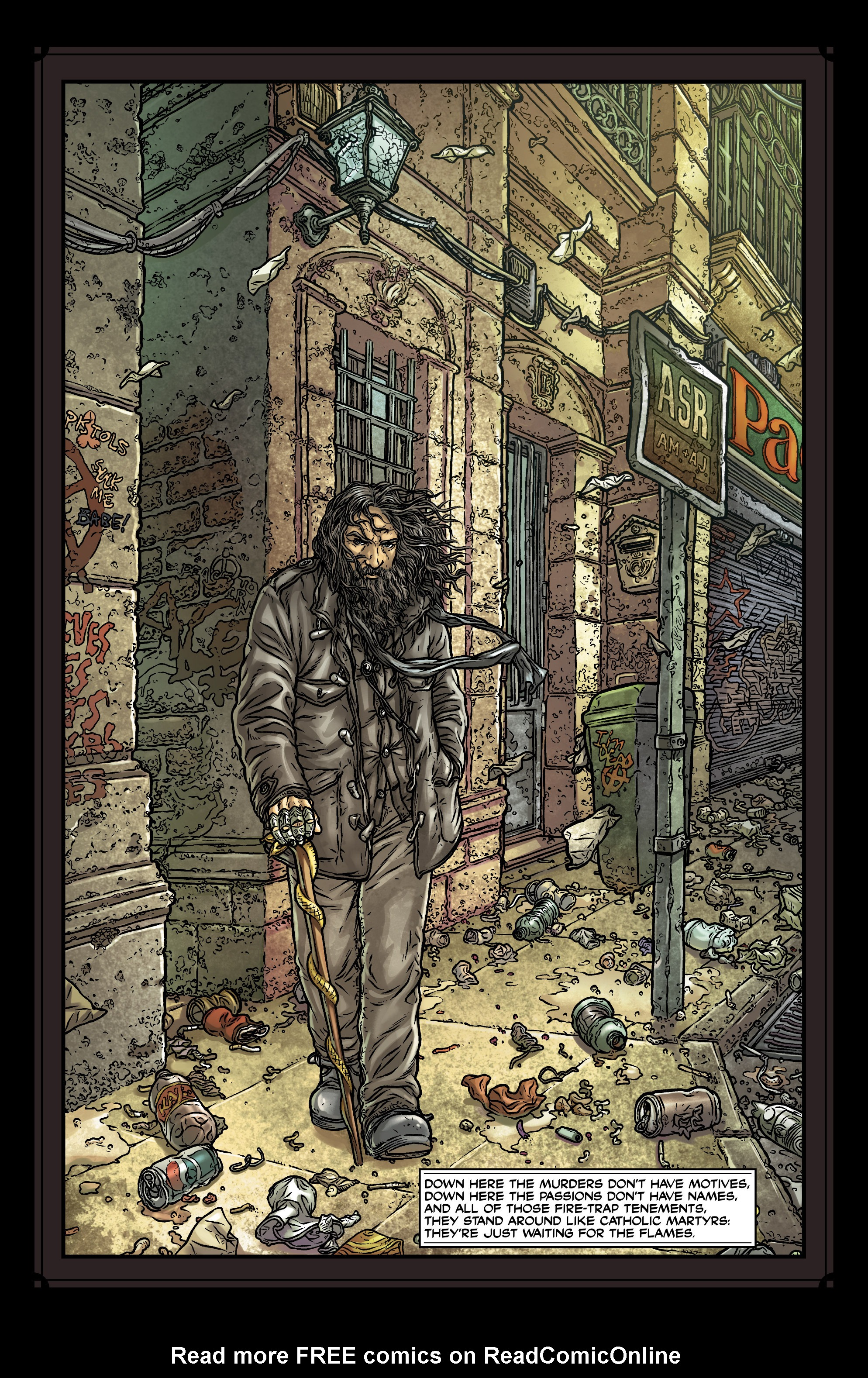 Read online Alan Moore's Another Suburban Romance comic -  Issue #Alan Moore's Another Suburban Romance Full - 51