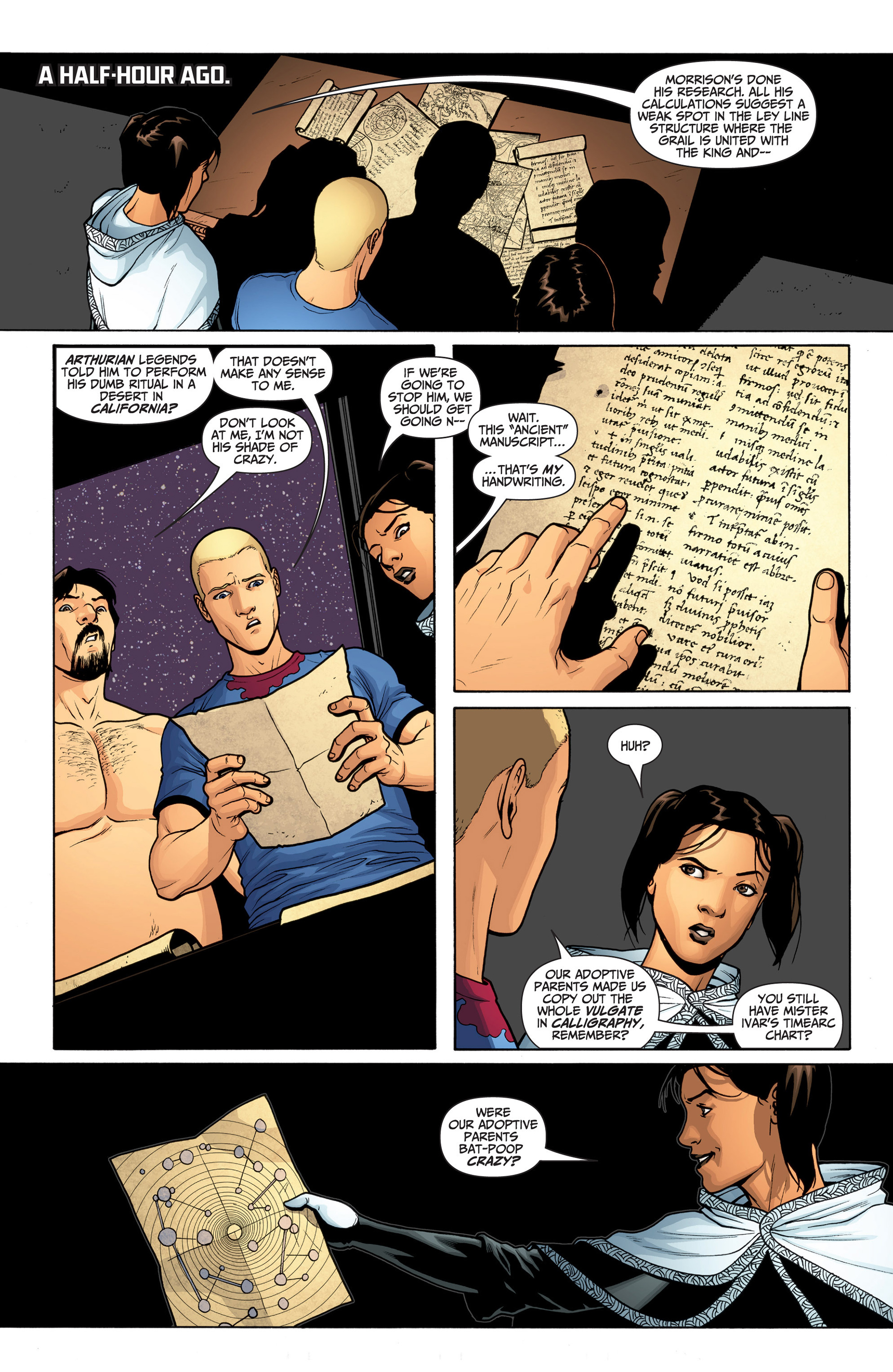 Read online Archer and Armstrong comic -  Issue #23 - 18