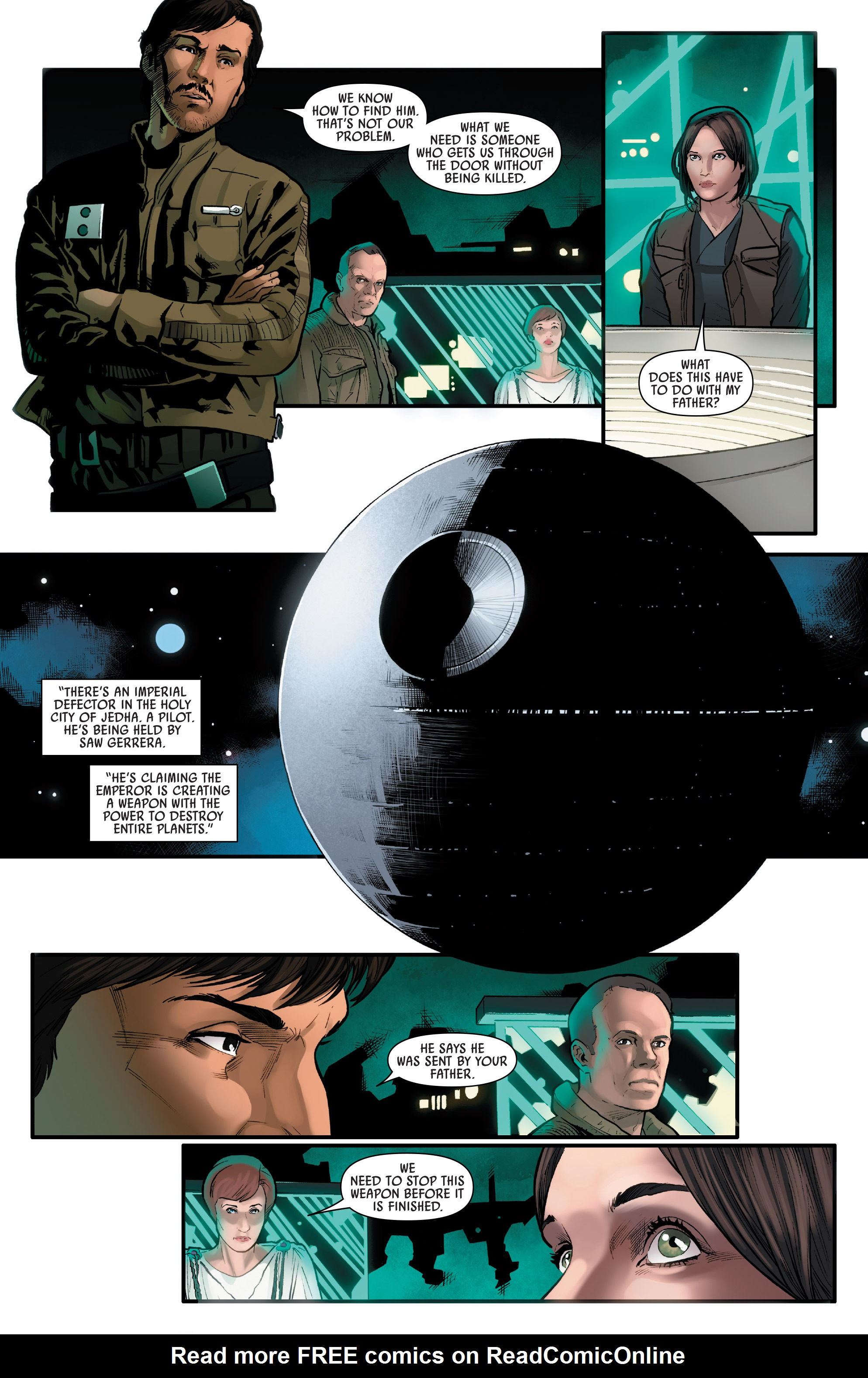Read online Star Wars: Rogue One Adaptation comic -  Issue #1 - 24