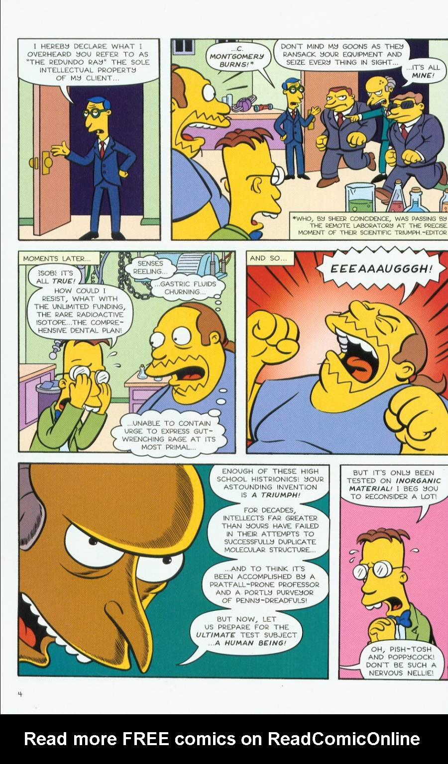Read online Treehouse of Horror comic -  Issue #7 - 47