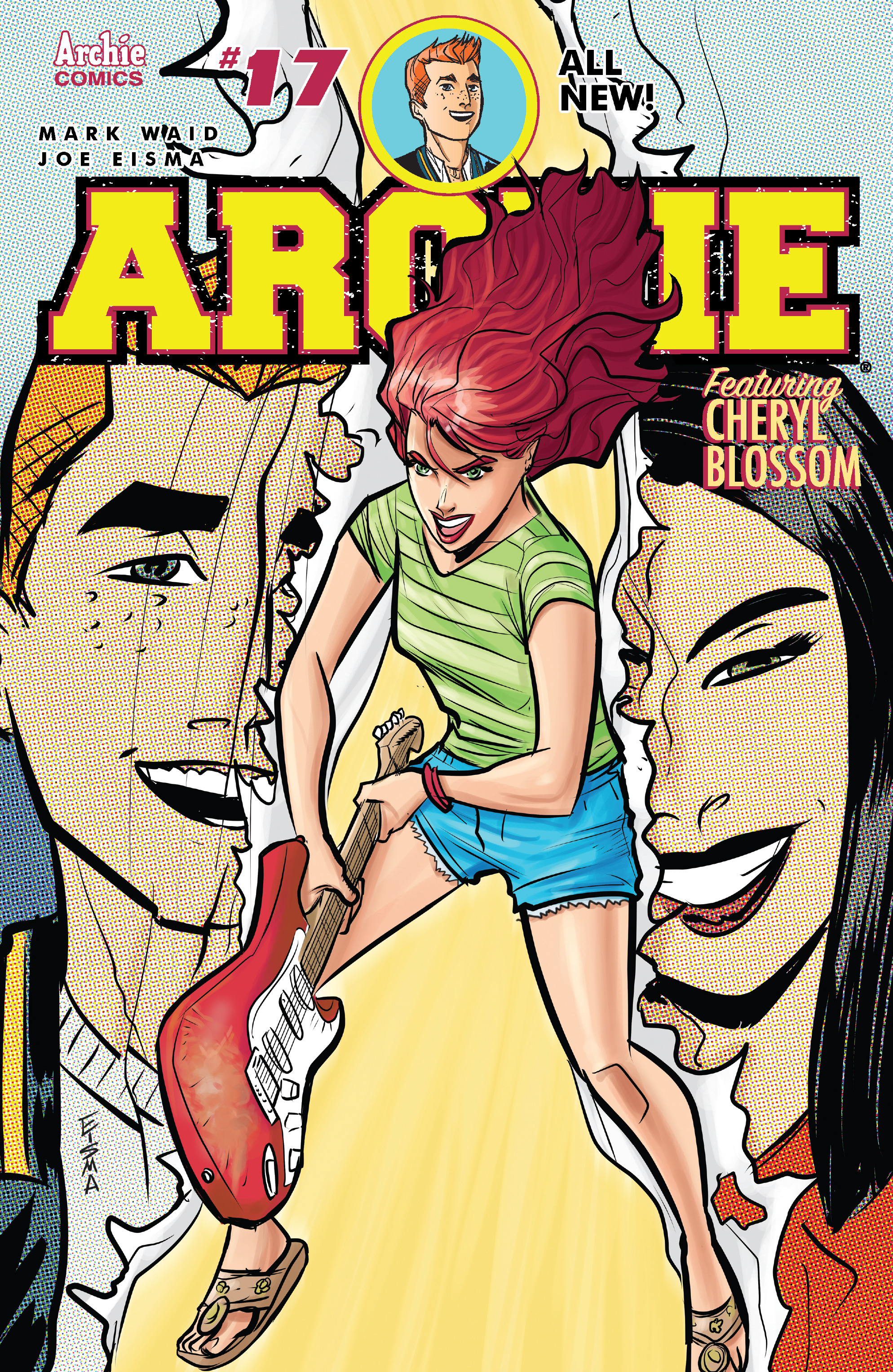 Read online Archie (2015) comic -  Issue #17 - 1