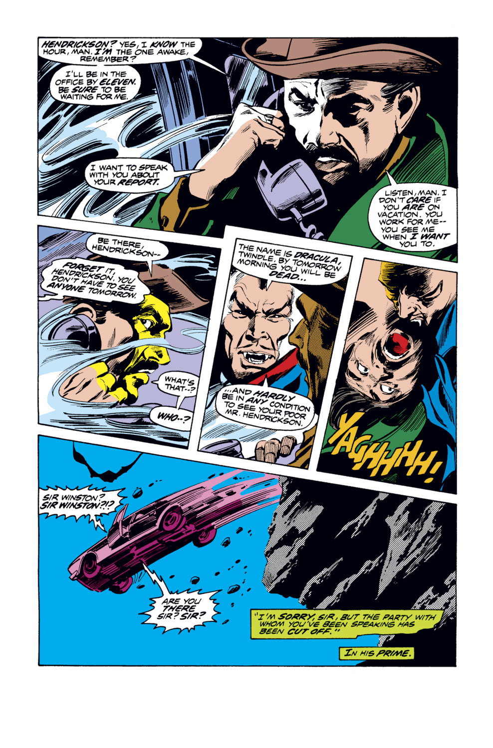 Tomb of Dracula (1972) issue 35 - Page 18