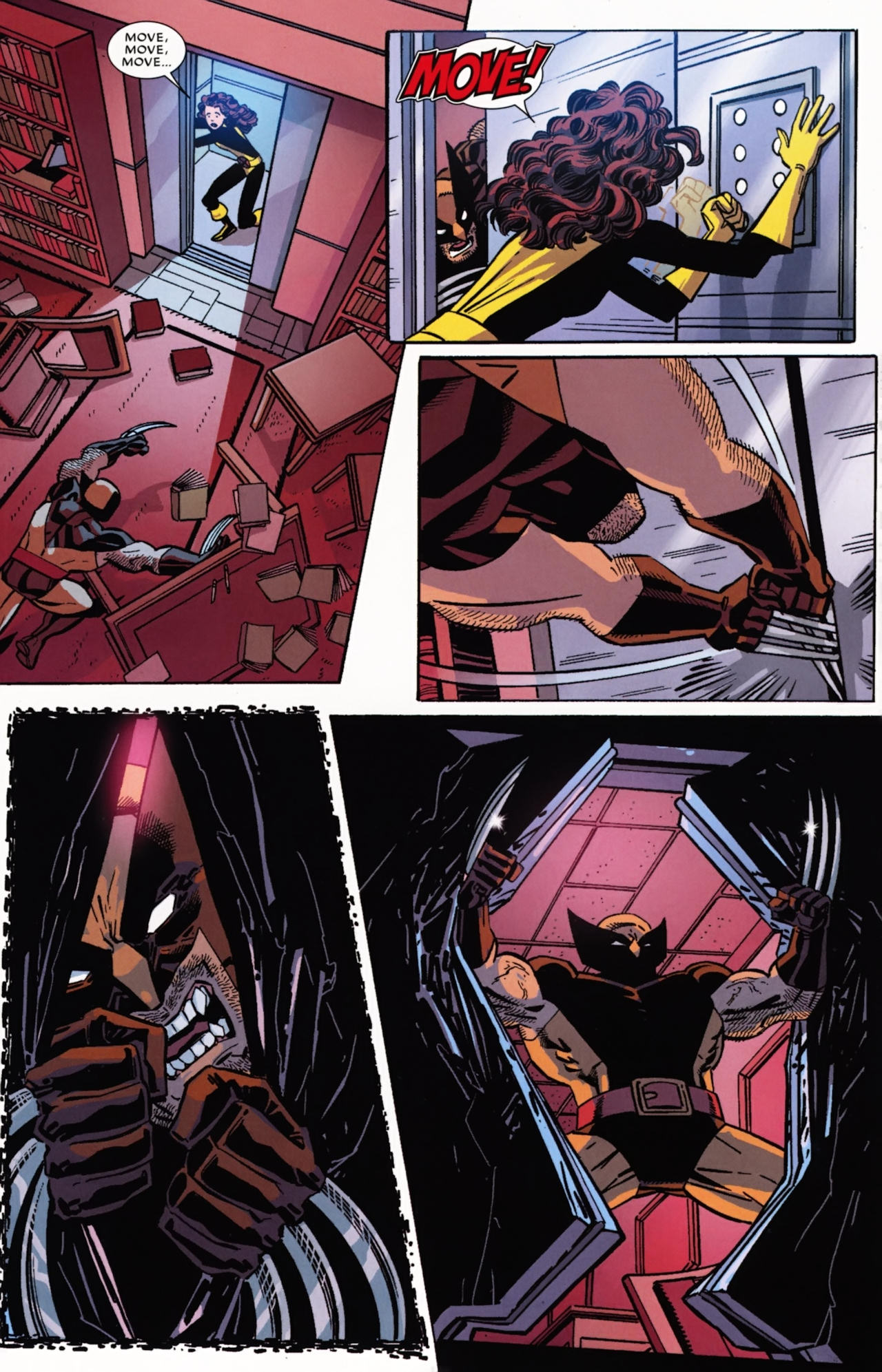 Read online Wolverine: First Class comic -  Issue #21 - 13