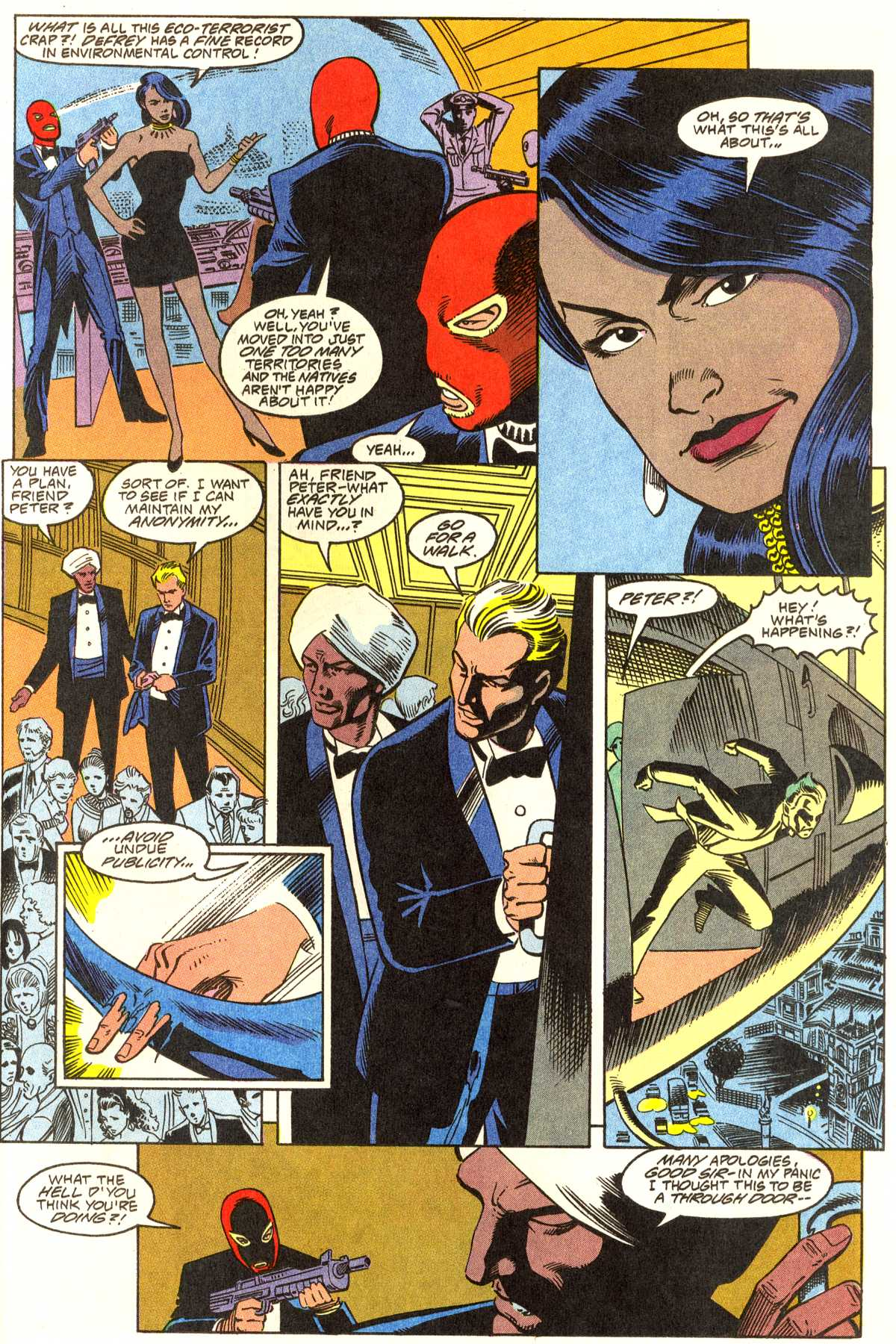 Read online Peter Cannon--Thunderbolt (1992) comic -  Issue #1 - 22
