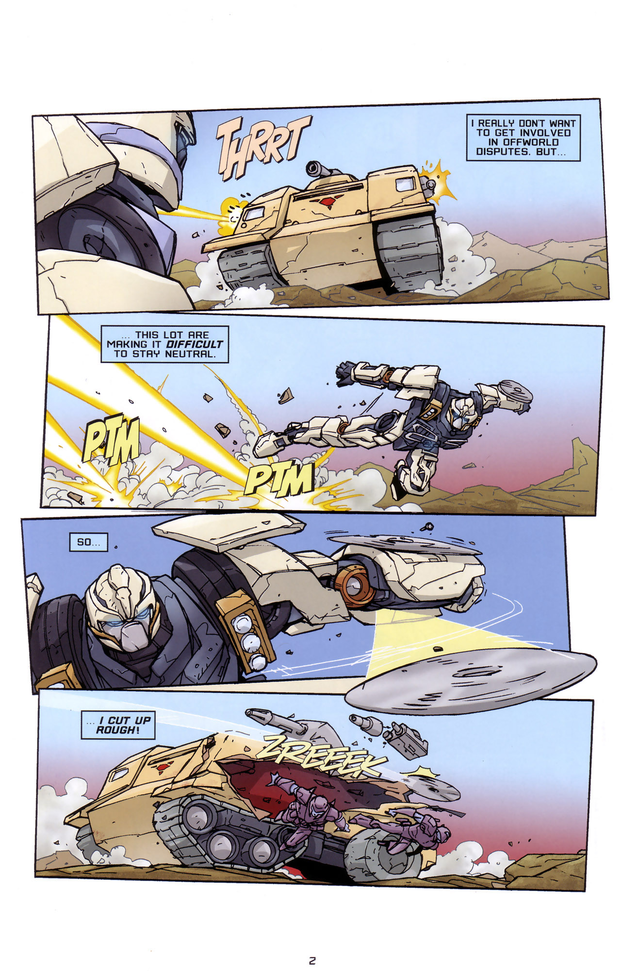 Read online Transformers: Saga of the Allspark comic -  Issue #2 - 5