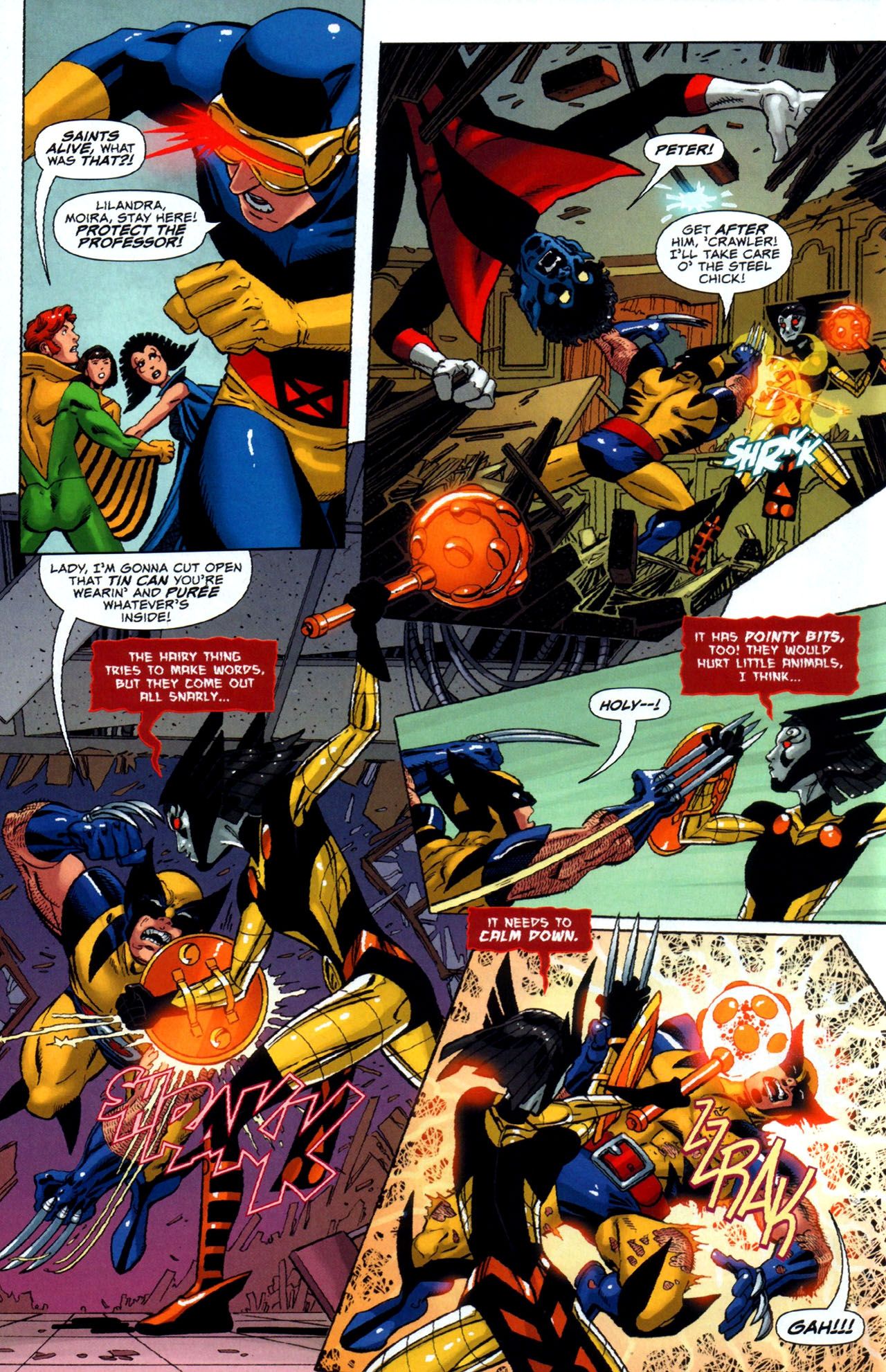 Read online Uncanny X-Men: First Class comic -  Issue #5 - 10