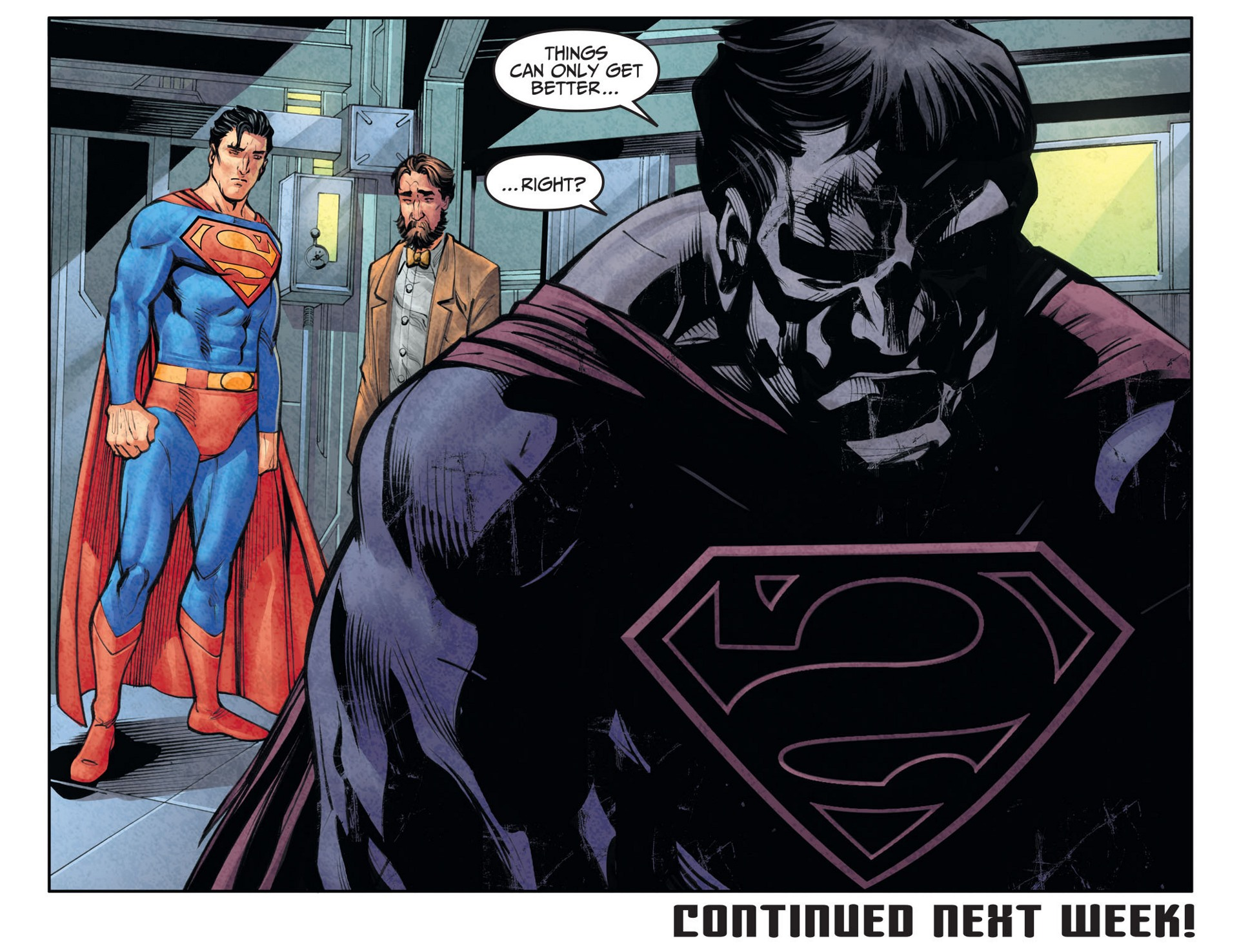 Read online Adventures of Superman [I] comic -  Issue #26 - 22