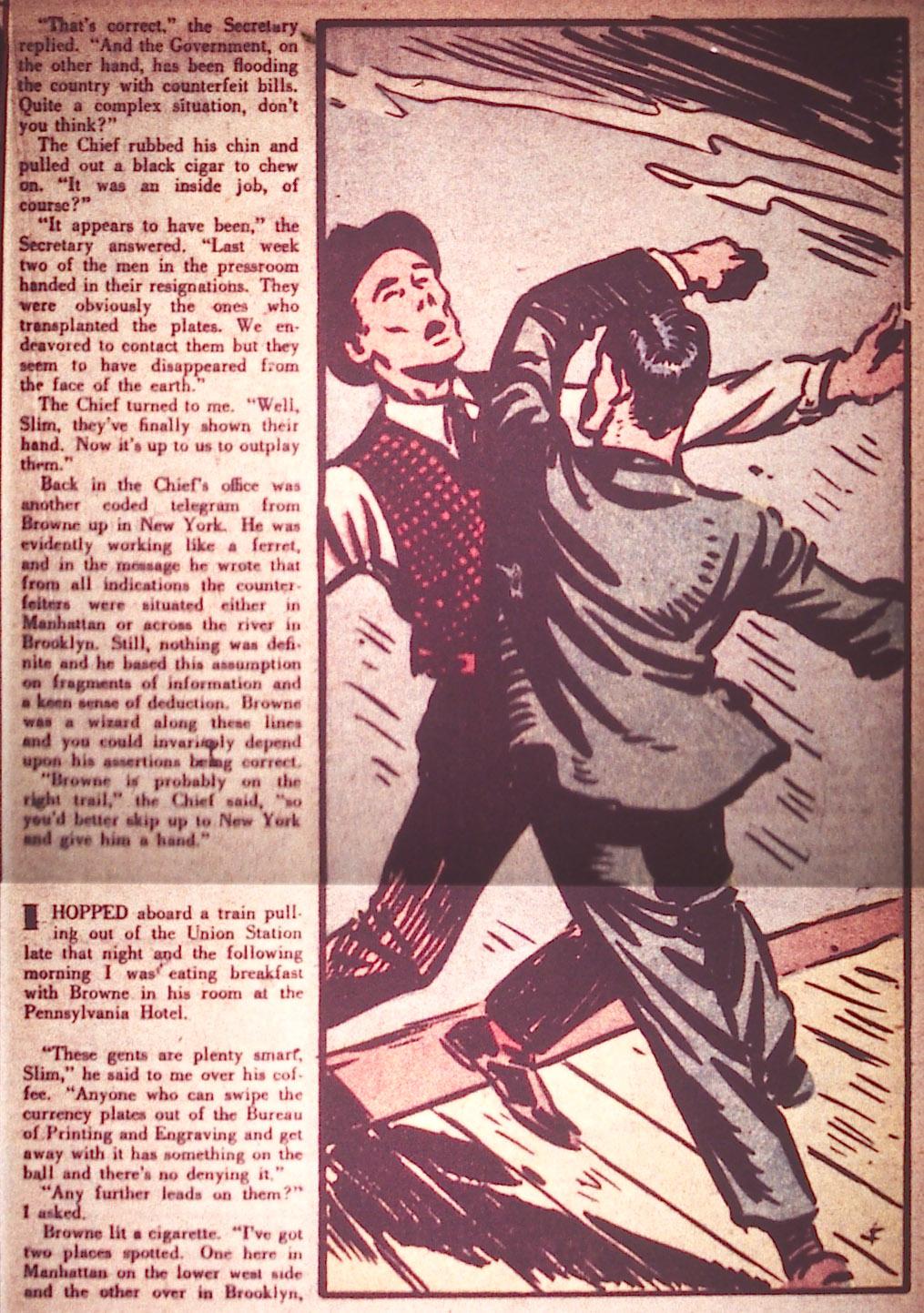 Read online Detective Comics (1937) comic -  Issue #12 - 37