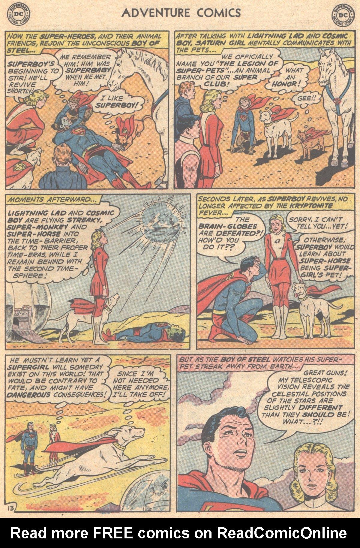 Read online Adventure Comics (1938) comic -  Issue #293 - 15