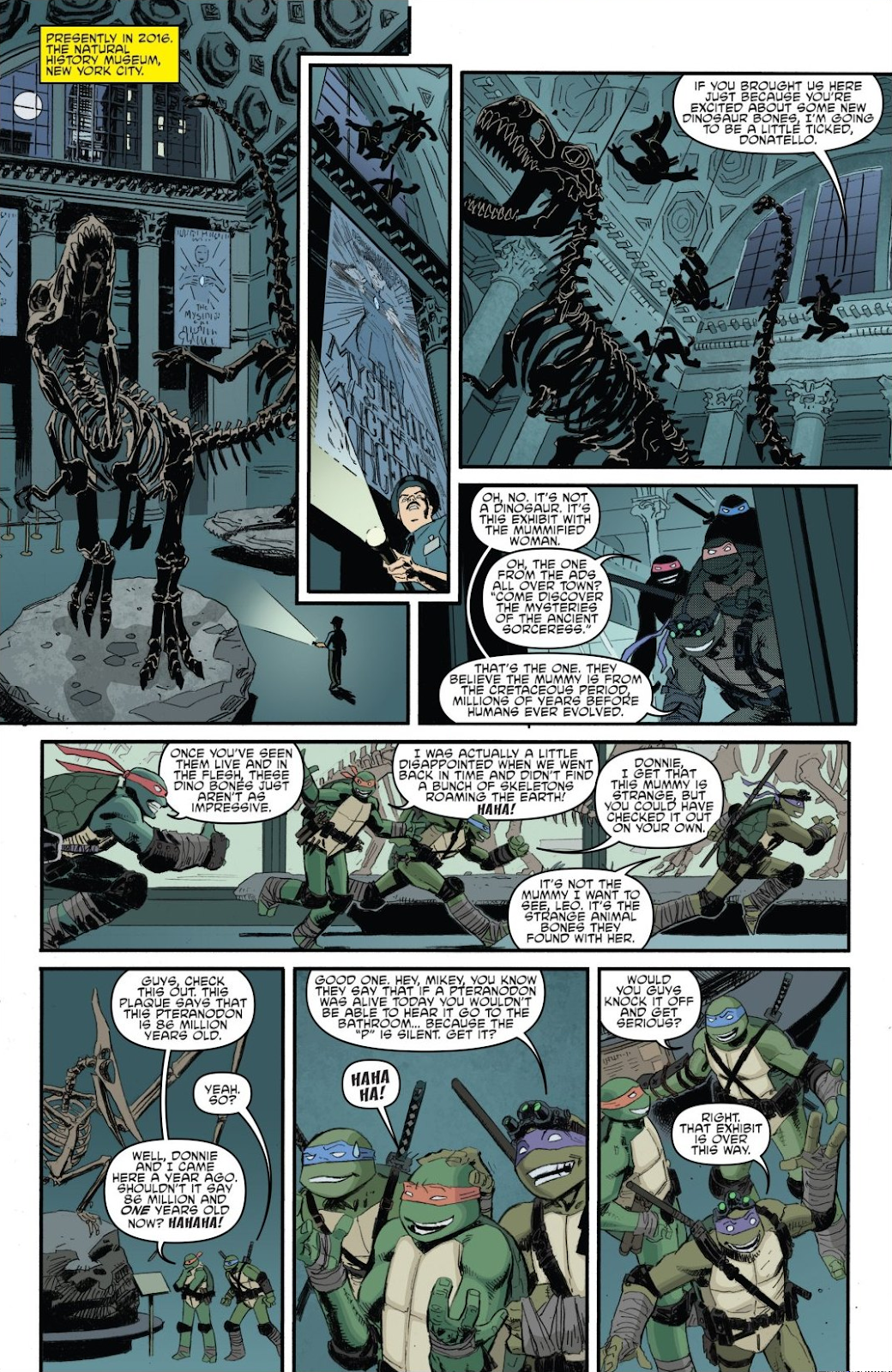 Read online Teenage Mutant Ninja Turtles: The IDW Collection comic -  Issue # TPB 8 (Part 1) - 10