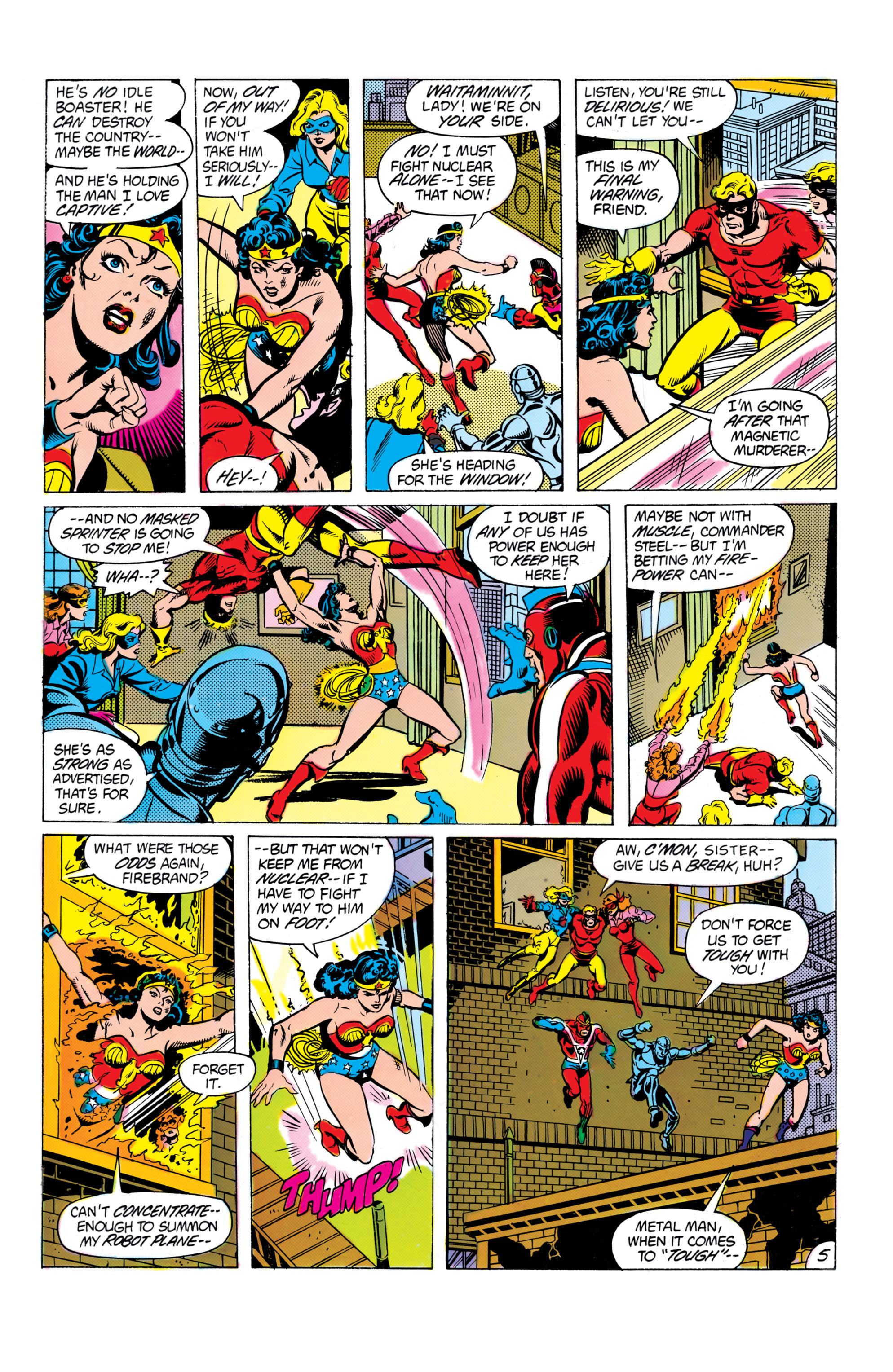 Read online All-Star Squadron comic -  Issue #16 - 6