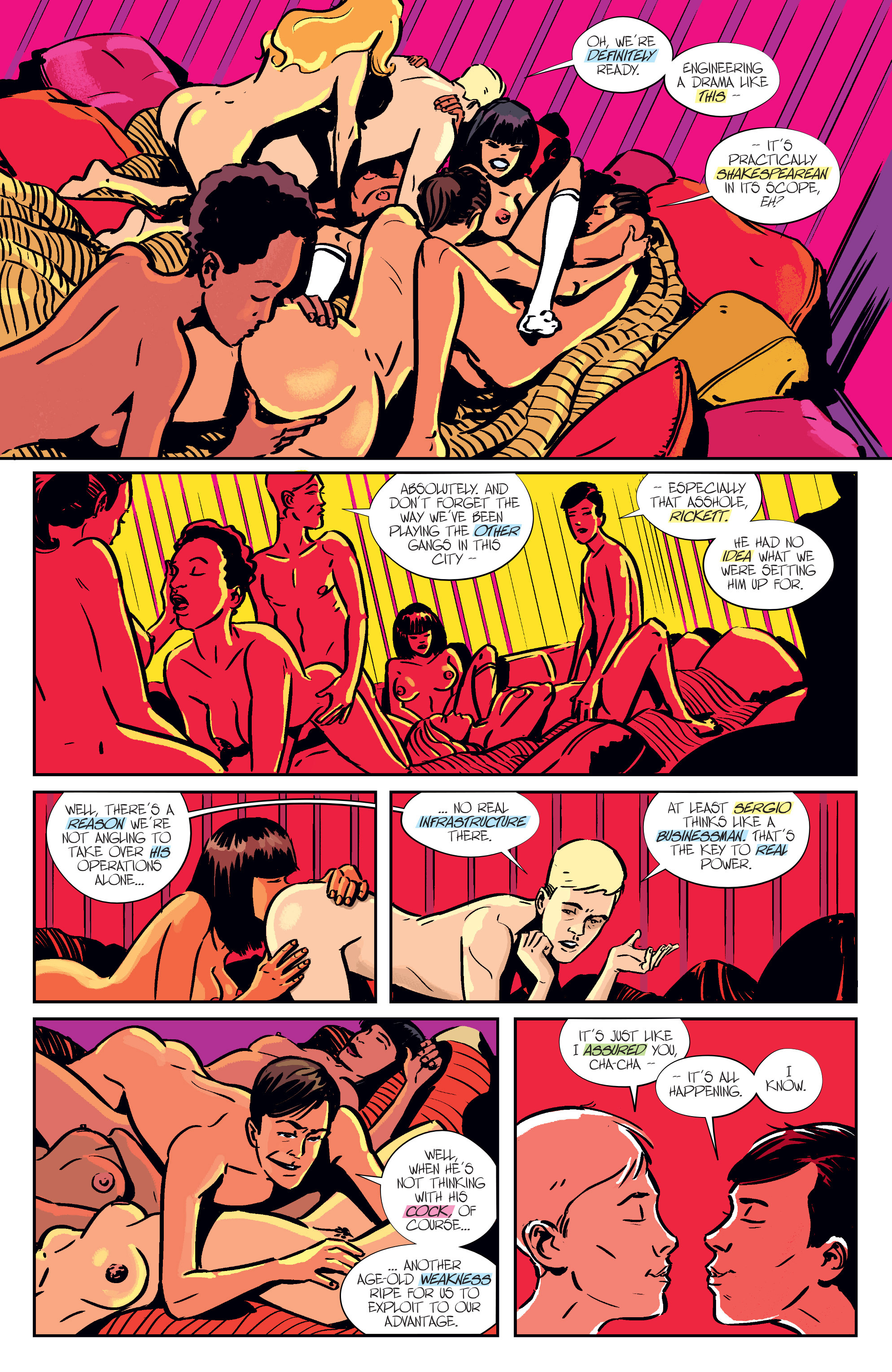 Read online Sex comic -  Issue #14 - 11