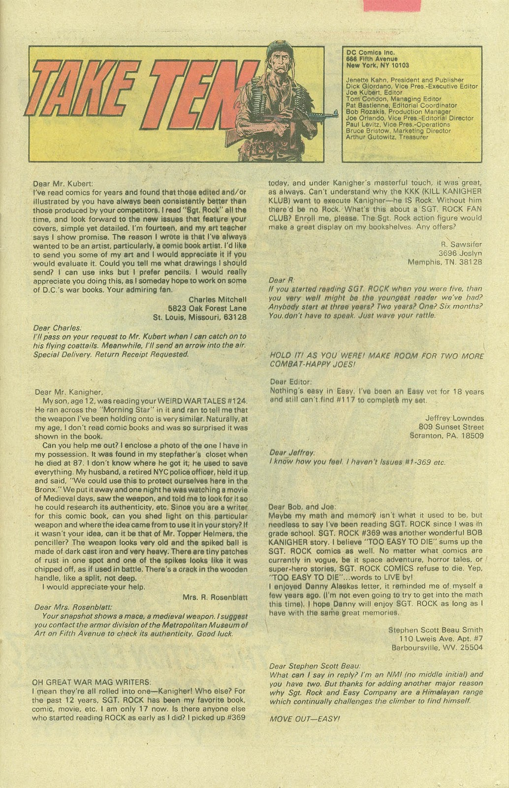 Sgt. Rock issue 388 - Page 20