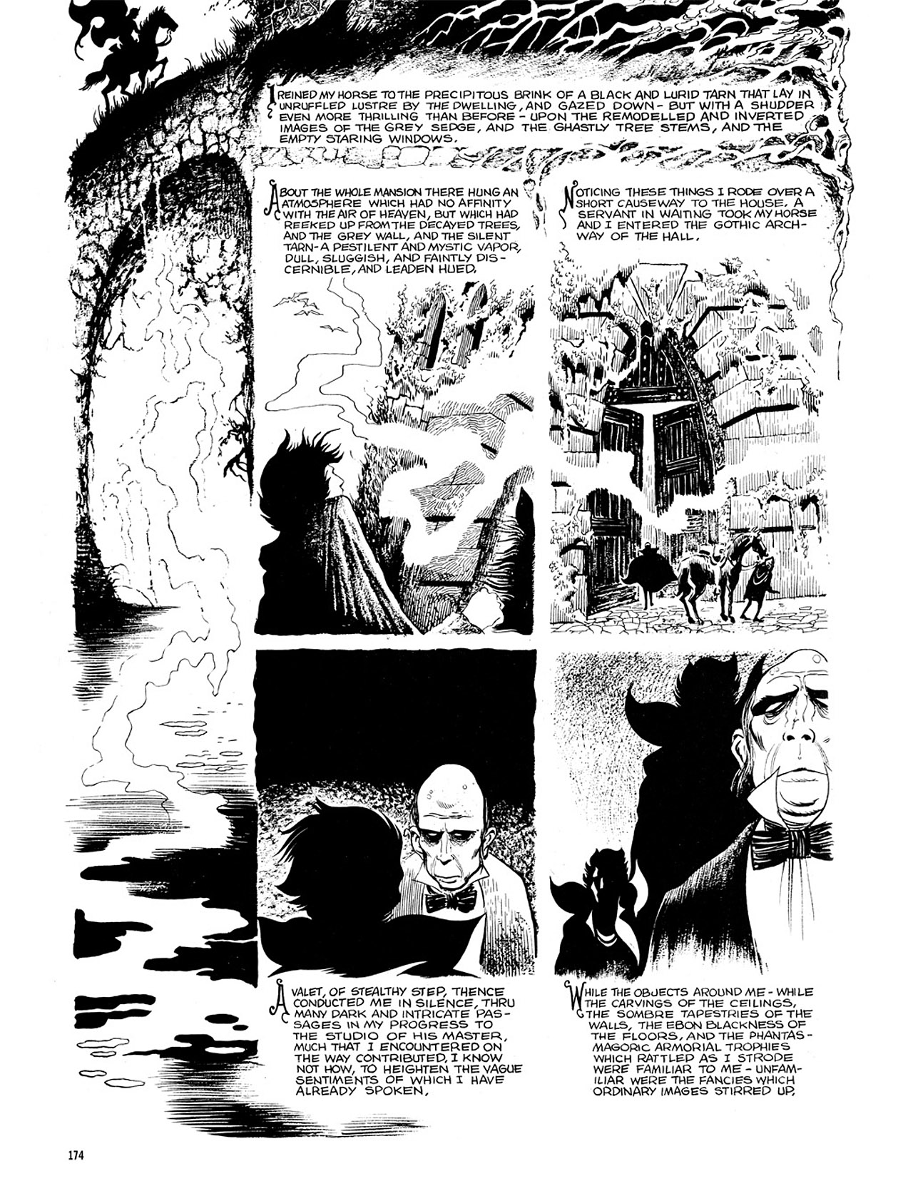 Read online Eerie Archives comic -  Issue # TPB 4 - 174