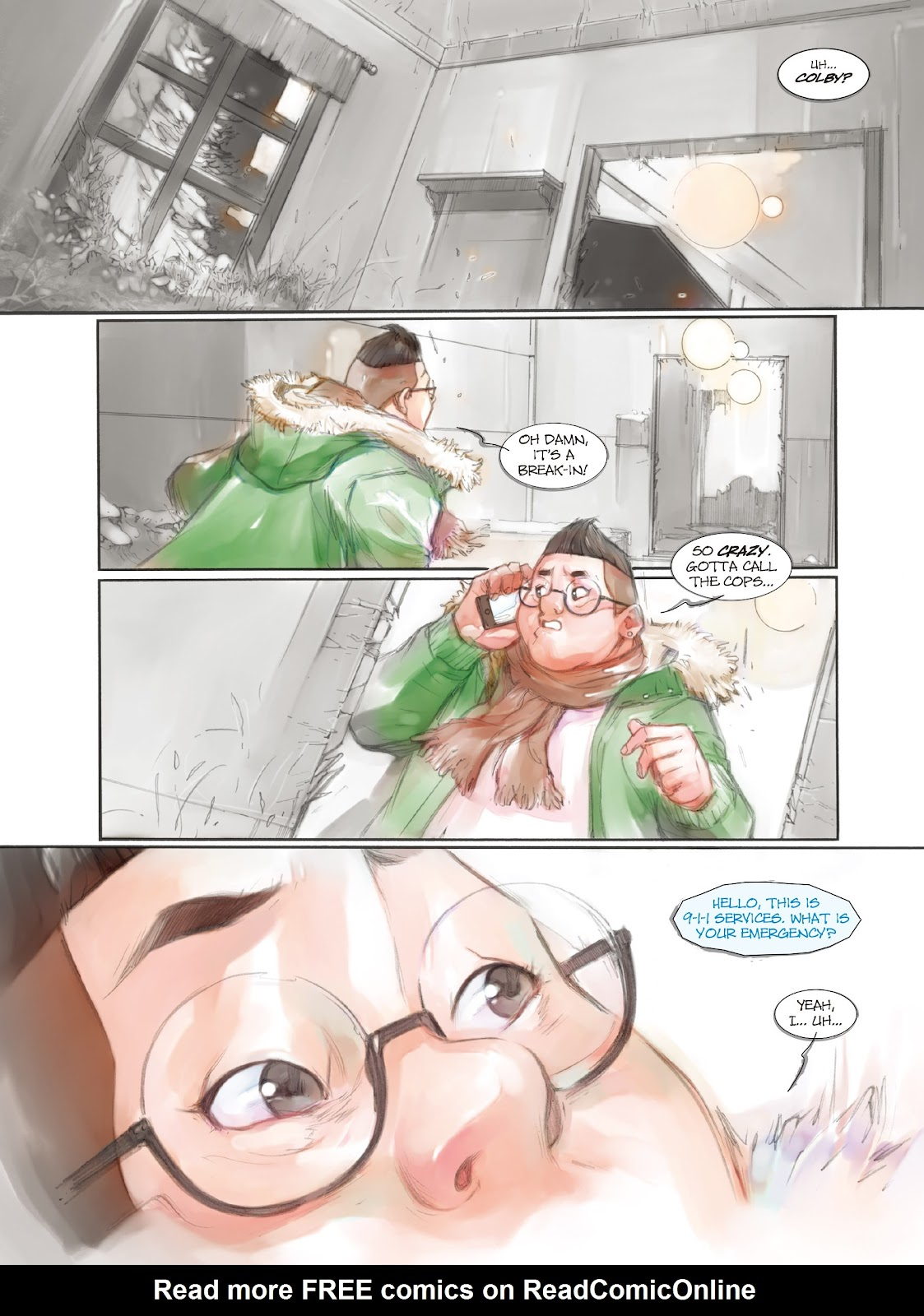 Read online Makeshift Miracle: The Girl From Nowhere comic -  Issue #7 - 3