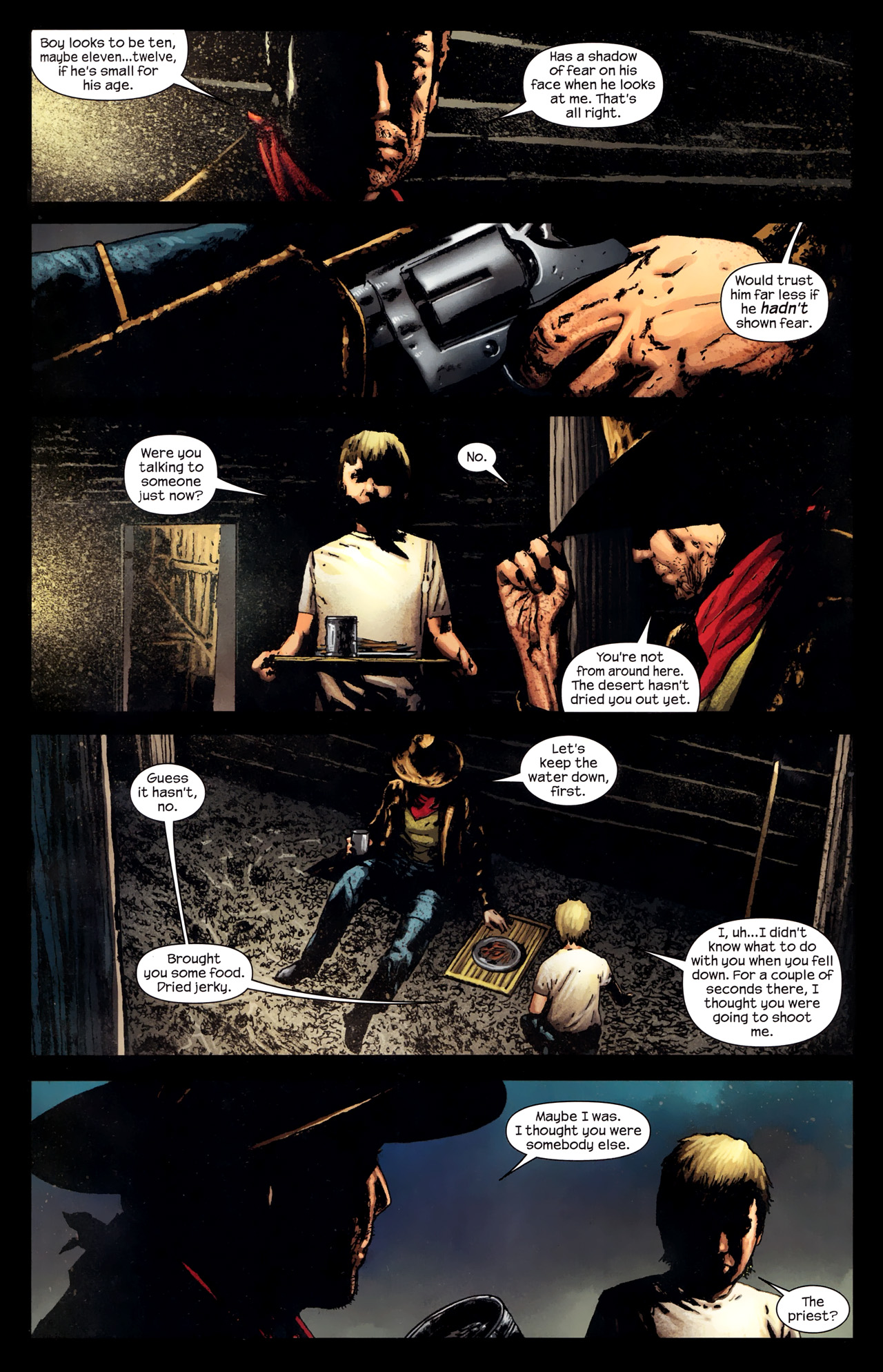 Read online Dark Tower: The Gunslinger - The Way Station comic -  Issue #2 - 6