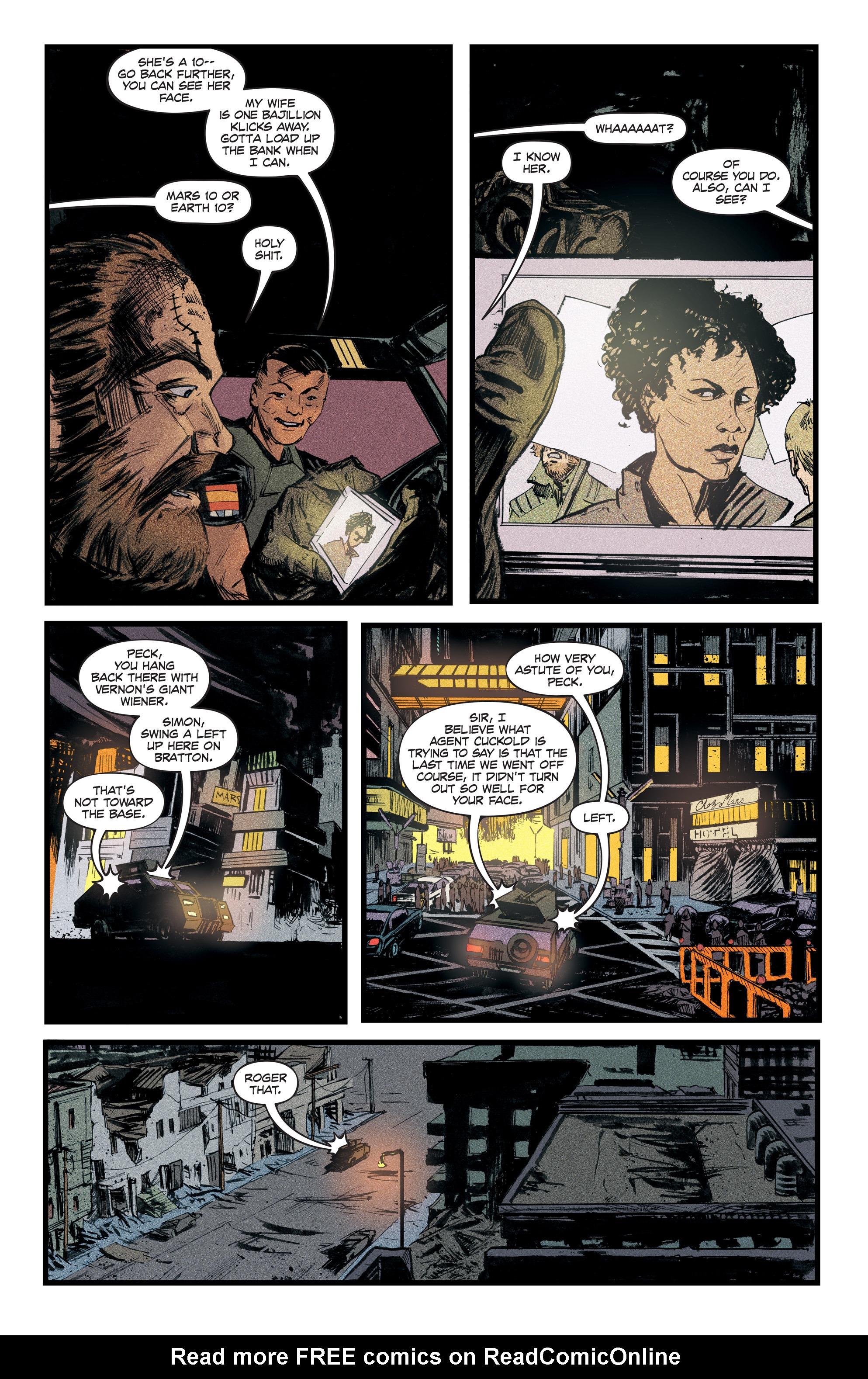 Read online Redline comic -  Issue #2 - 16