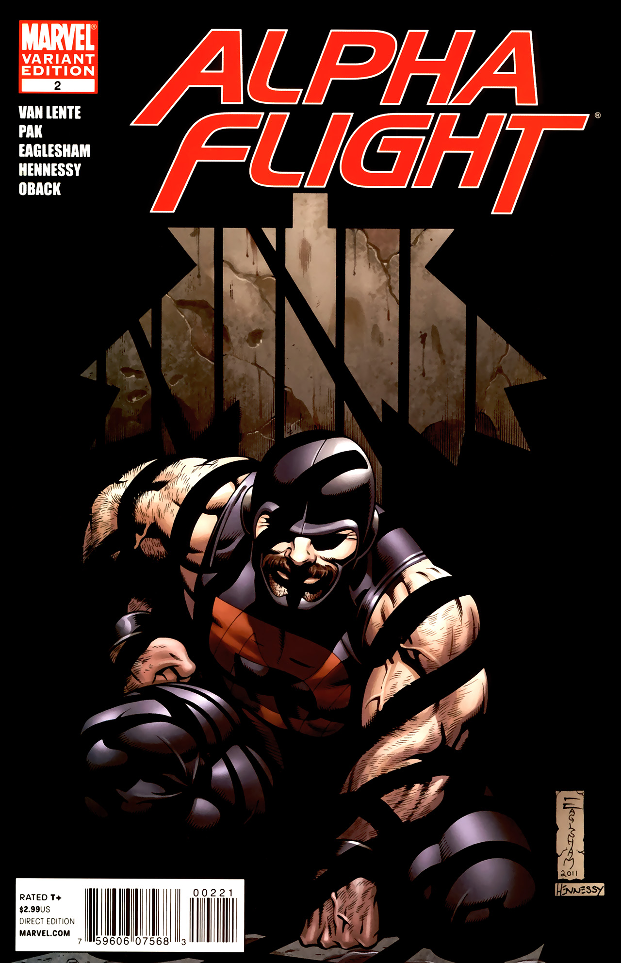 Read online Alpha Flight (2011) comic -  Issue #2 - 2