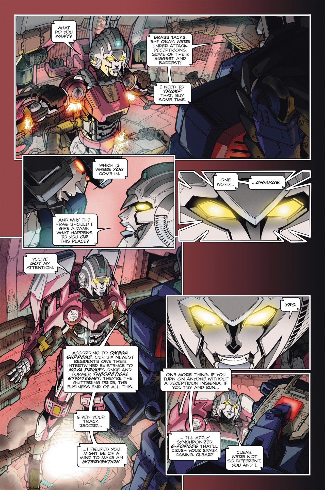 Read online Transformers: Spotlight - Arcee comic -  Issue # Full - 19