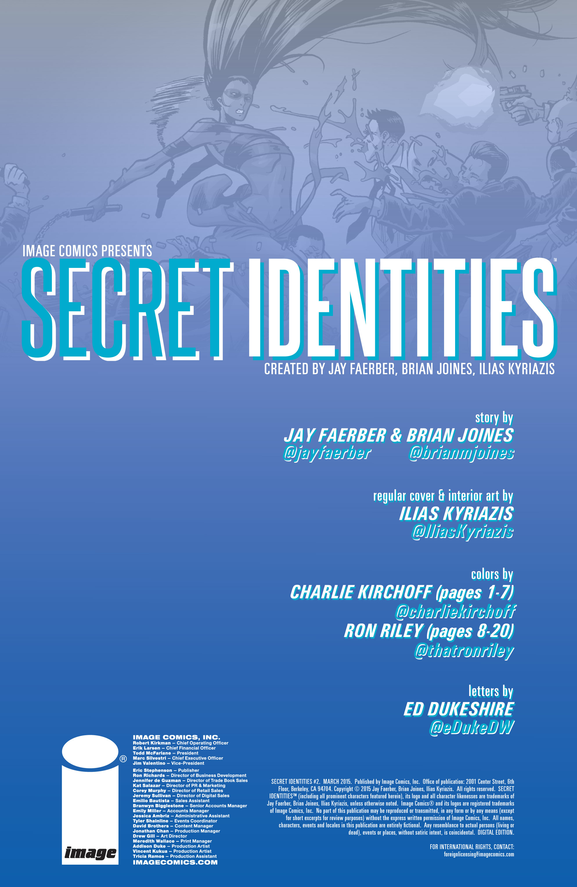Read online Secret Identities comic -  Issue #2 - 2