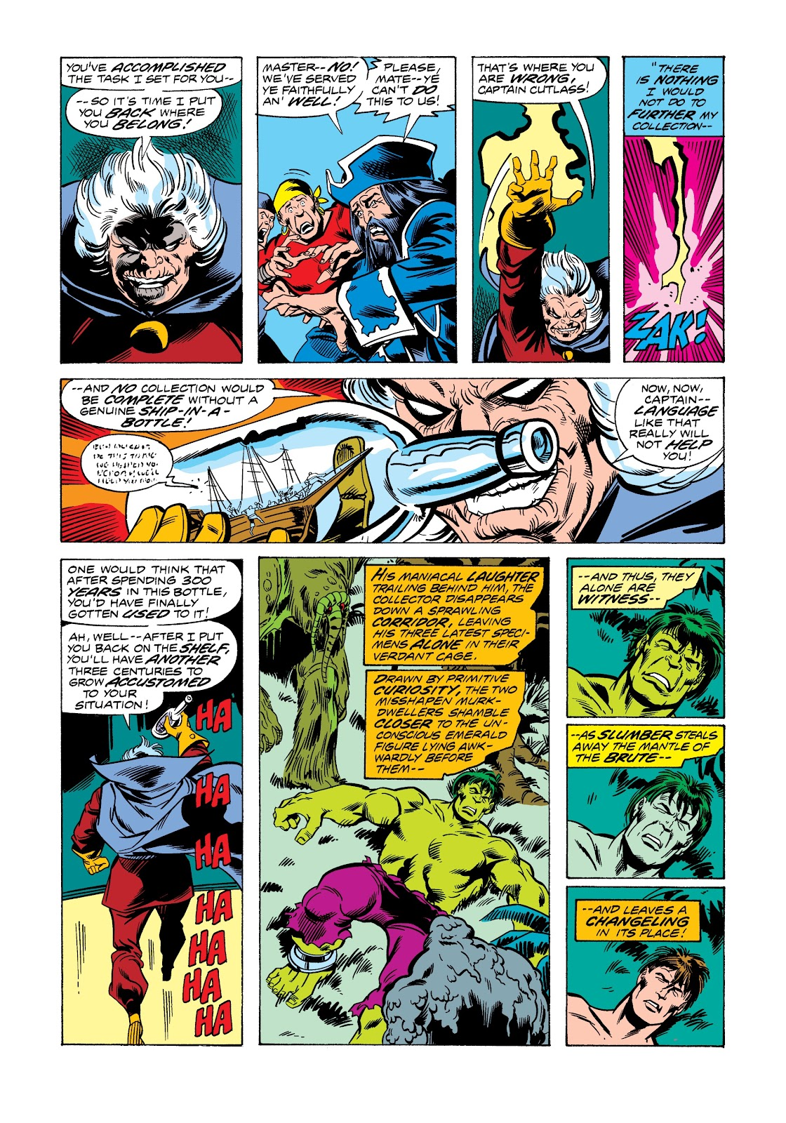 Read online Marvel Masterworks: The Incredible Hulk comic -  Issue # TPB 12 (Part 1) - 31