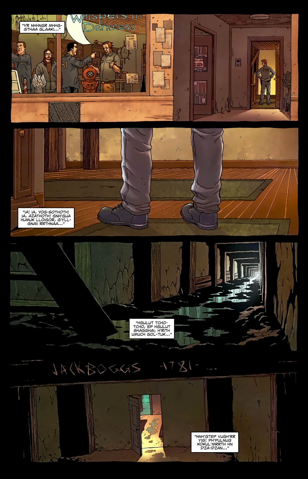 Read online Alan Moore's Neonomicon comic -  Issue #3 - 7